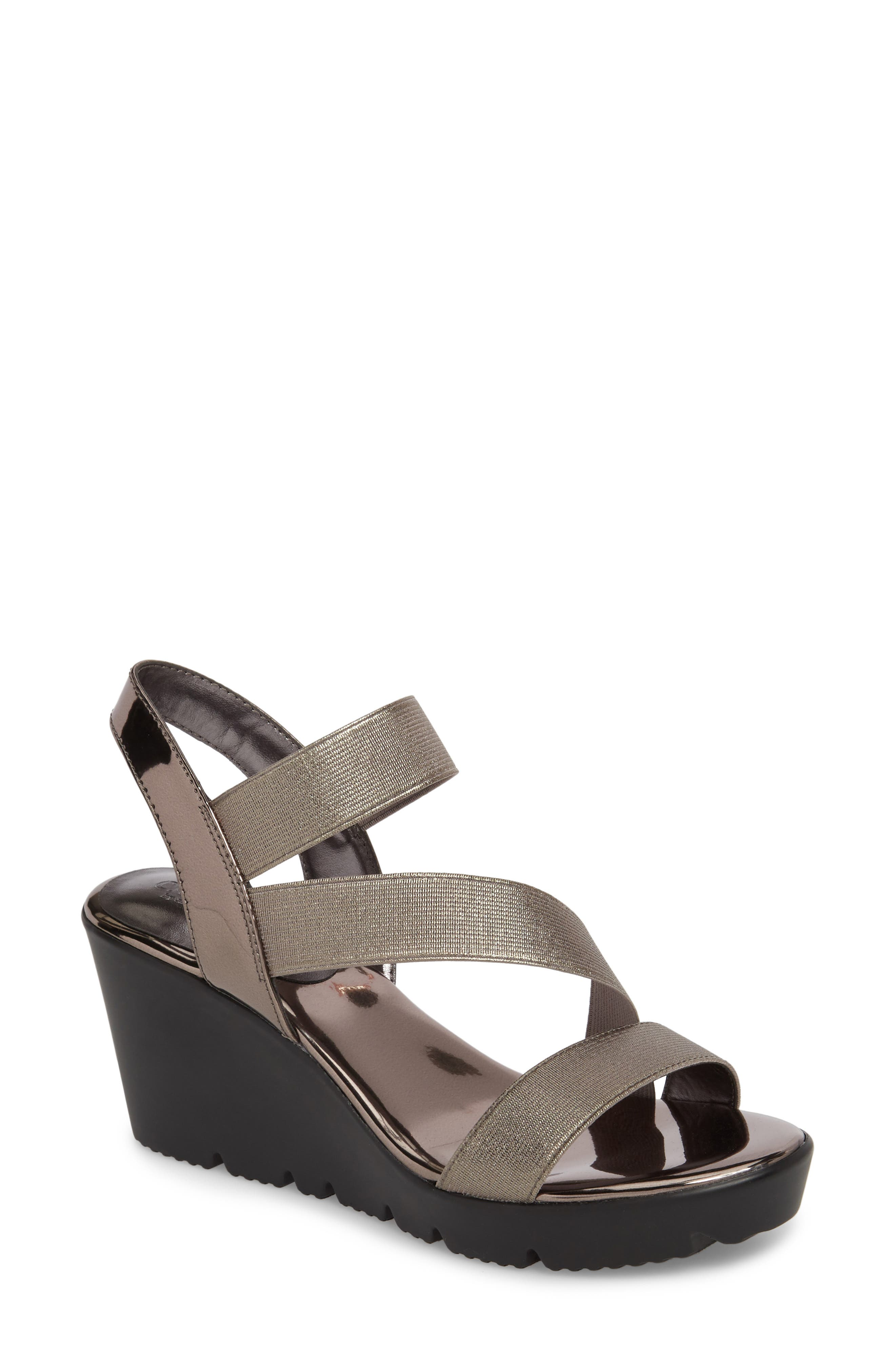 Charles by Charles David Vent Wedge Sandal (Women)