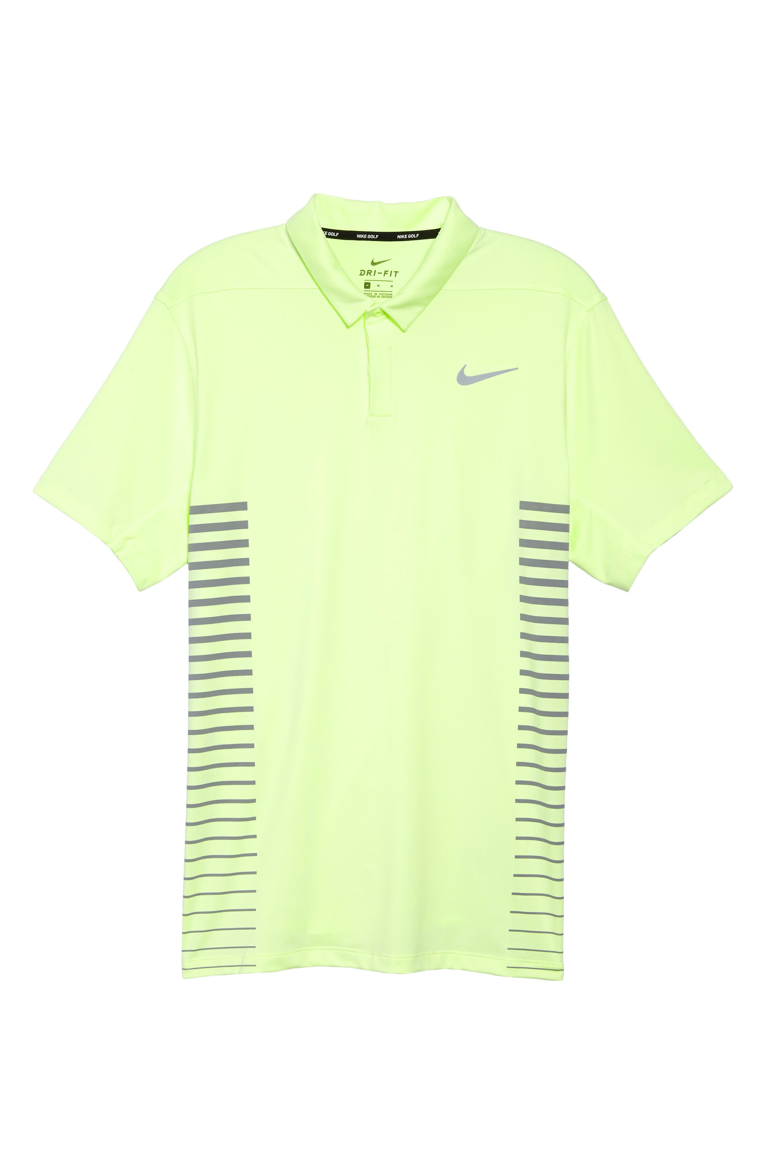 Dry Polo Shirt,                             Alternate thumbnail 6, color,                             Barely Volt/ Cool Grey/ Silver