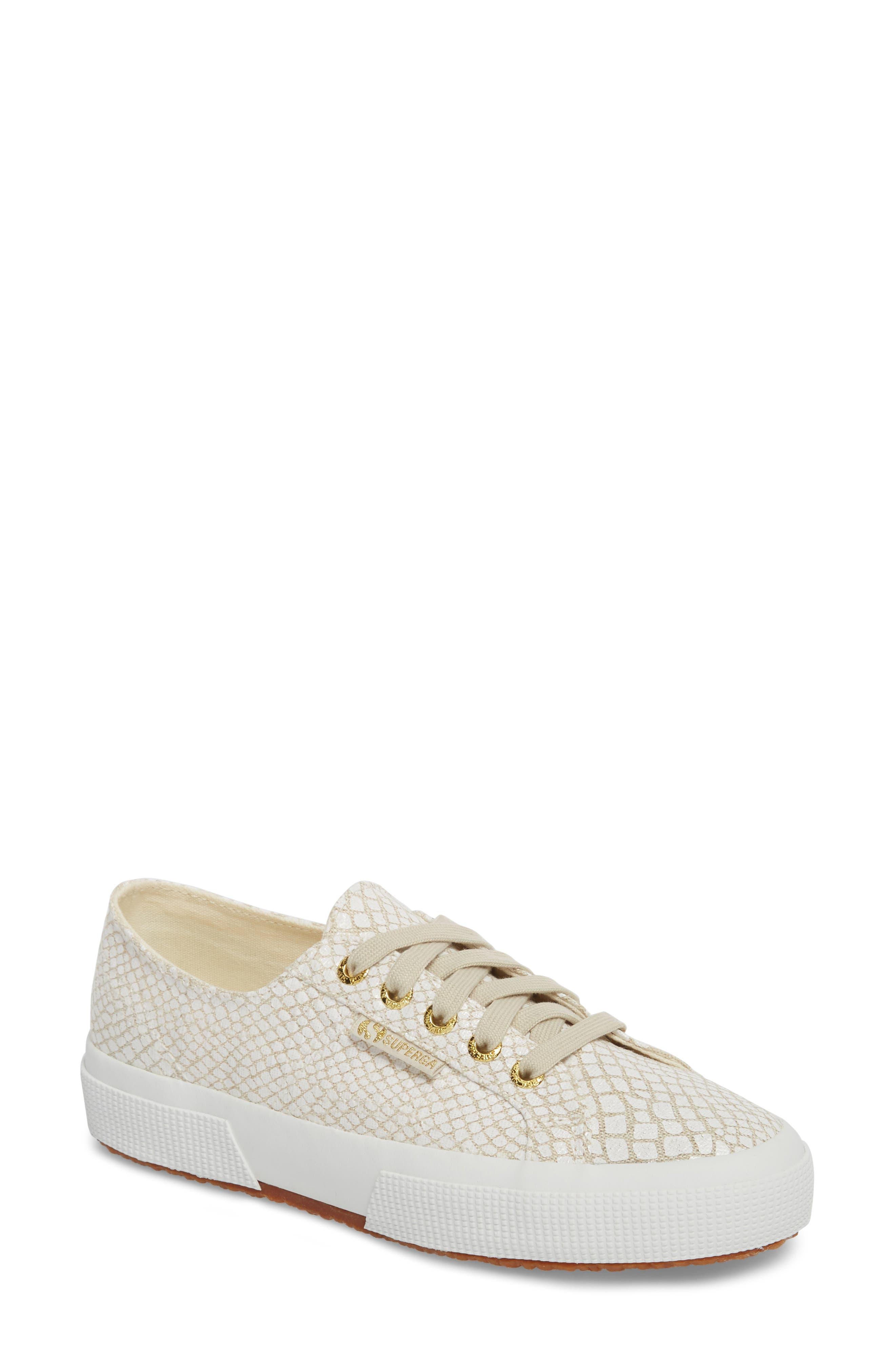 Sneaker SUPERGA 2750 Plus Satin Violet SILVER