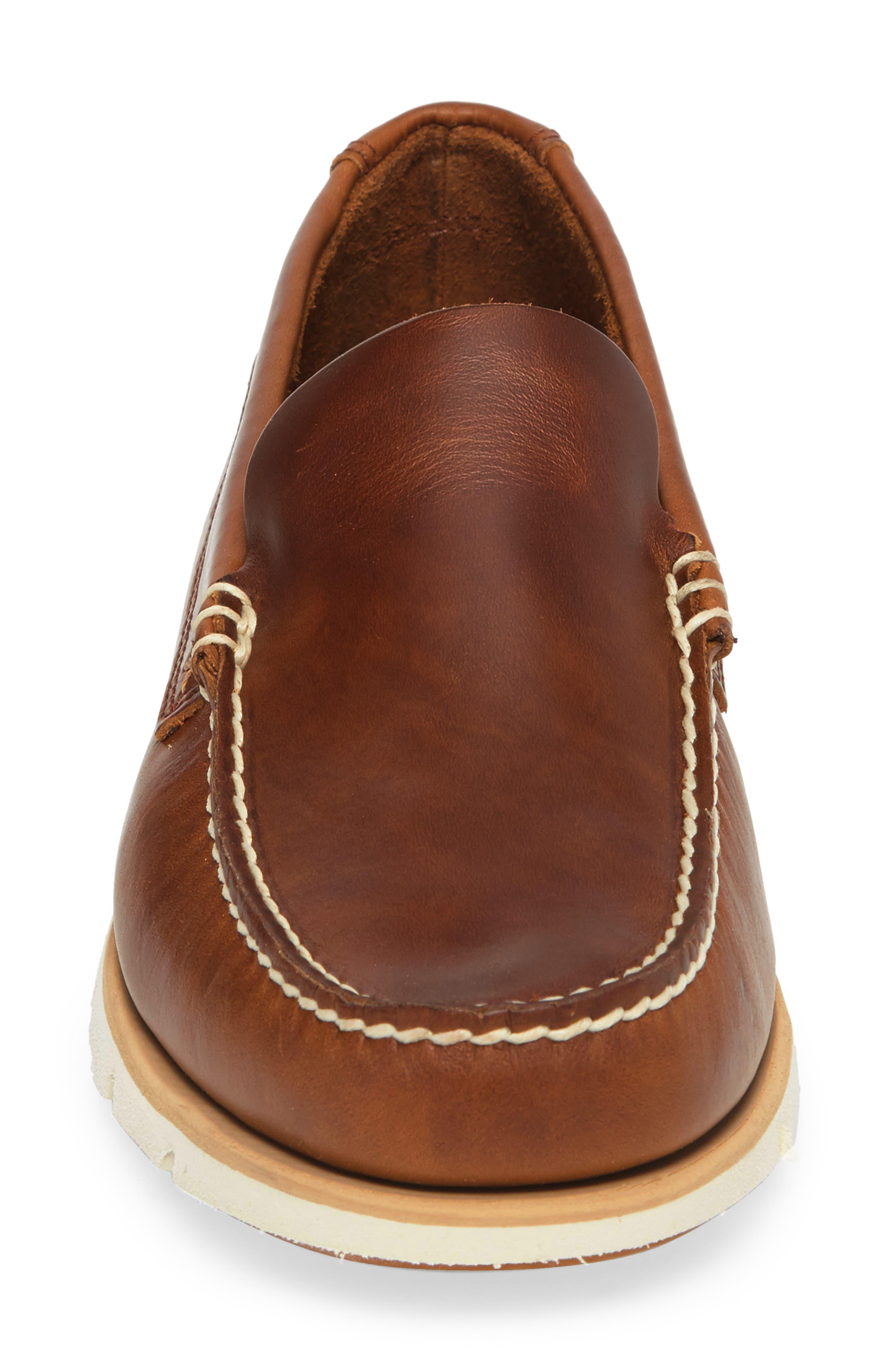 Tidelands Venetian Loafer,                             Alternate thumbnail 4, color,                             Brown