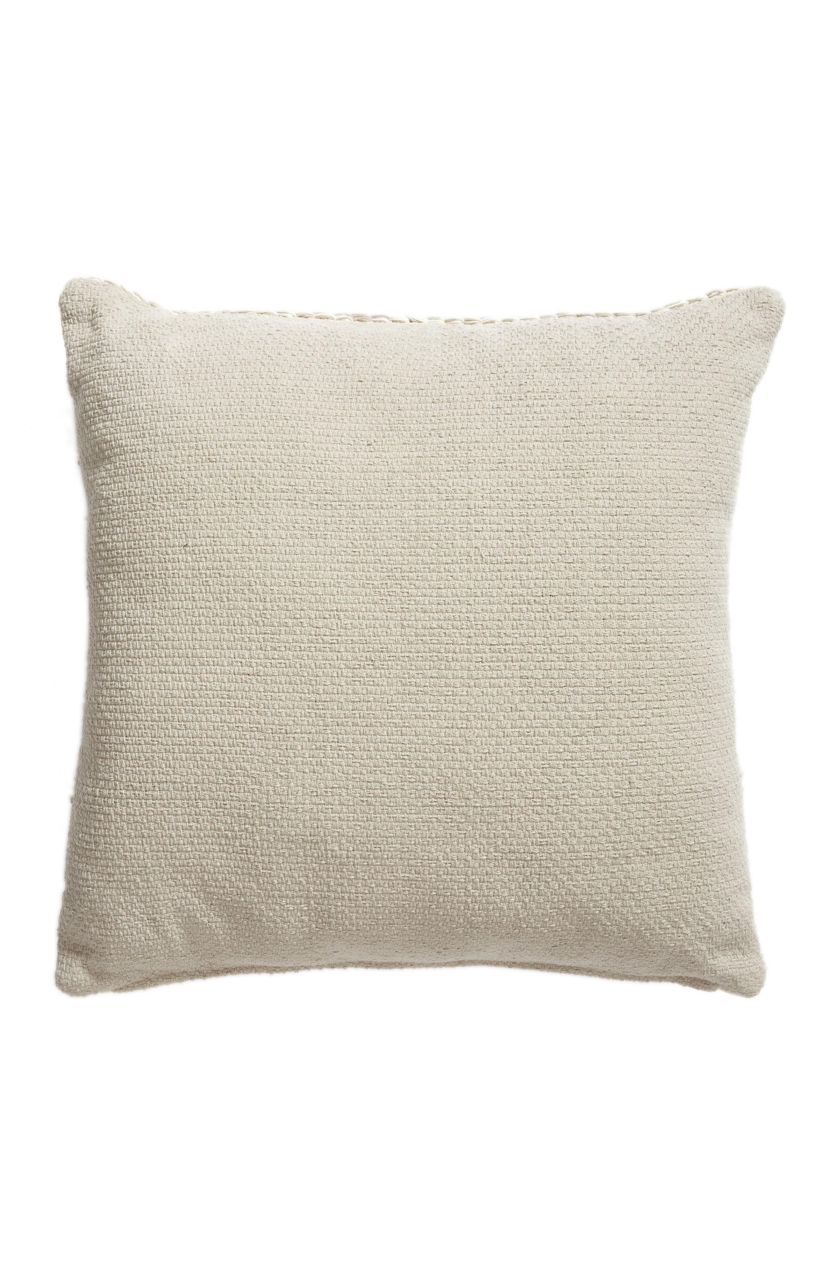 Knit Floor Pillow,                             Alternate thumbnail 2, color,                             Grey Owl