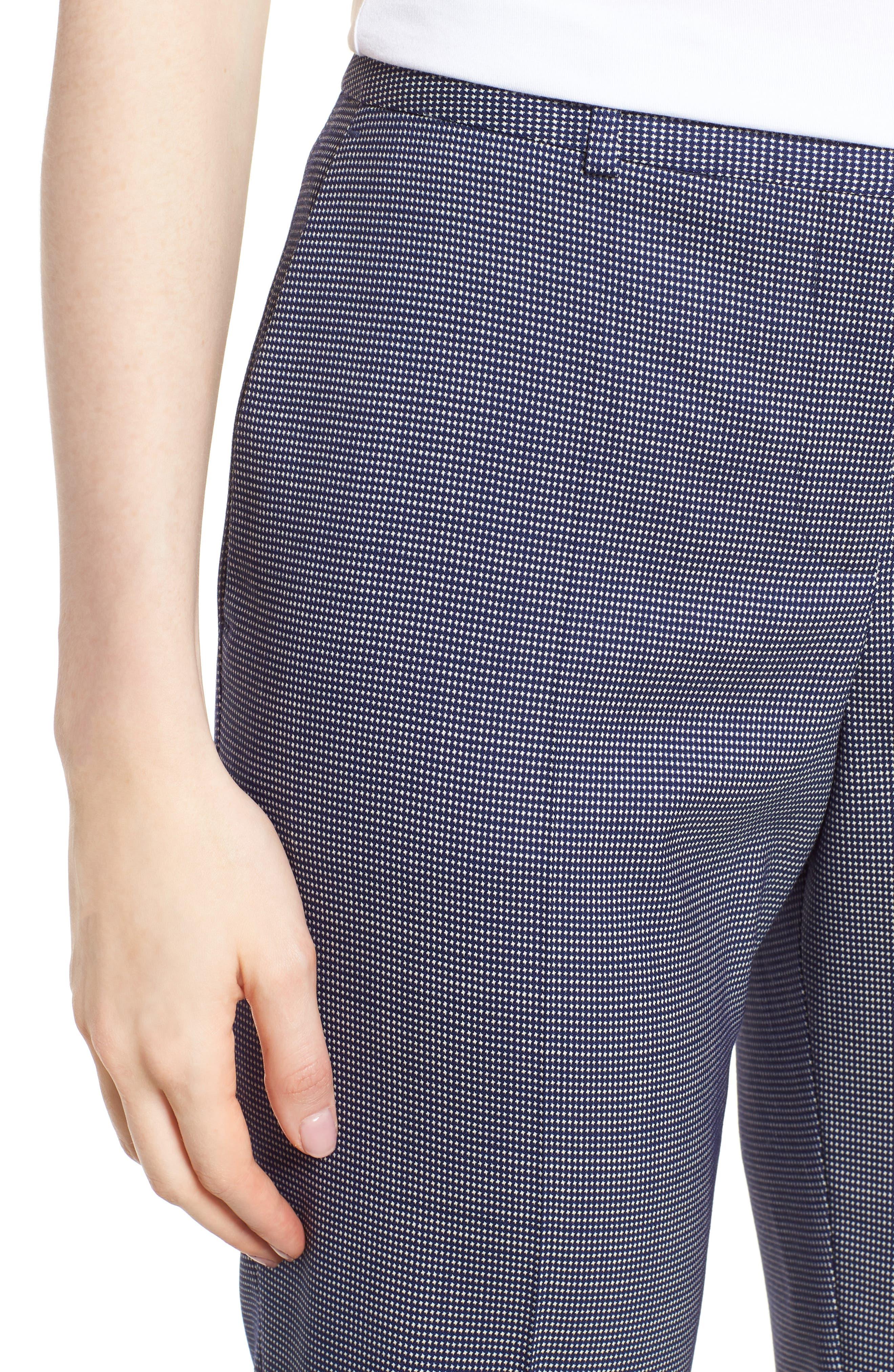 Tamea Minidessin Suit Pants,                             Alternate thumbnail 4, color,                             Blue Fantasy