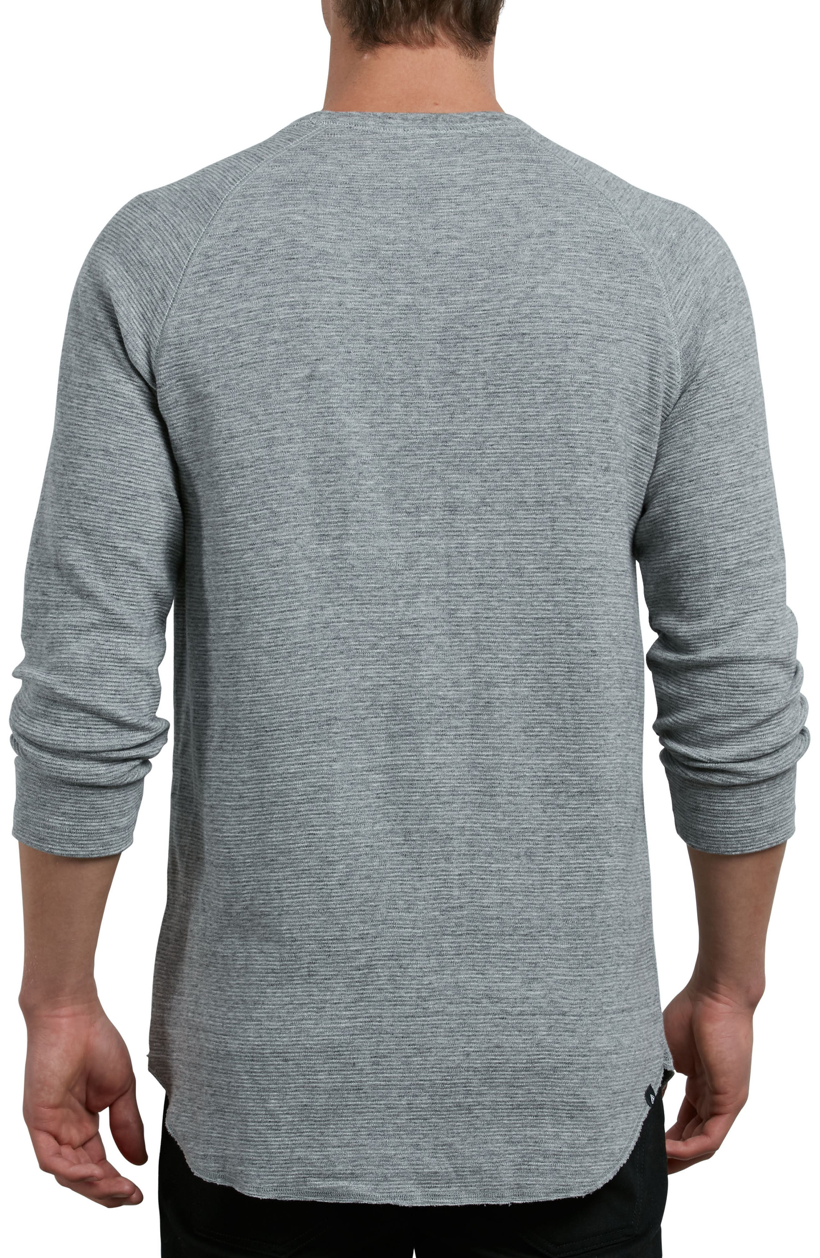 Warren Long Sleeve Stripe T-Shirt,                             Alternate thumbnail 2, color,                             Mist