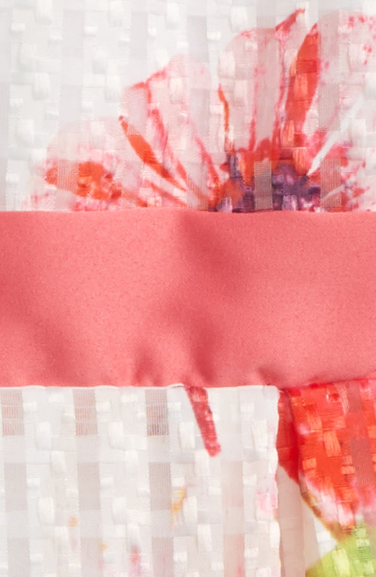 Veronica Flower Party Dress,                             Alternate thumbnail 2, color,                             Multi Print