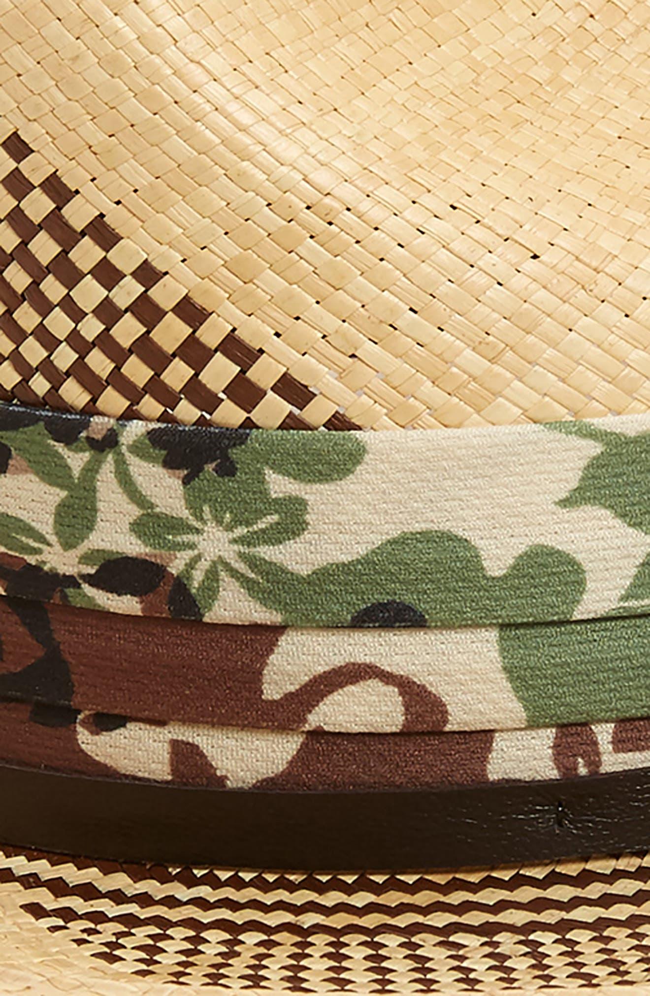 Alternate Image 2  - Bailey Rayney Straw Panama Hat