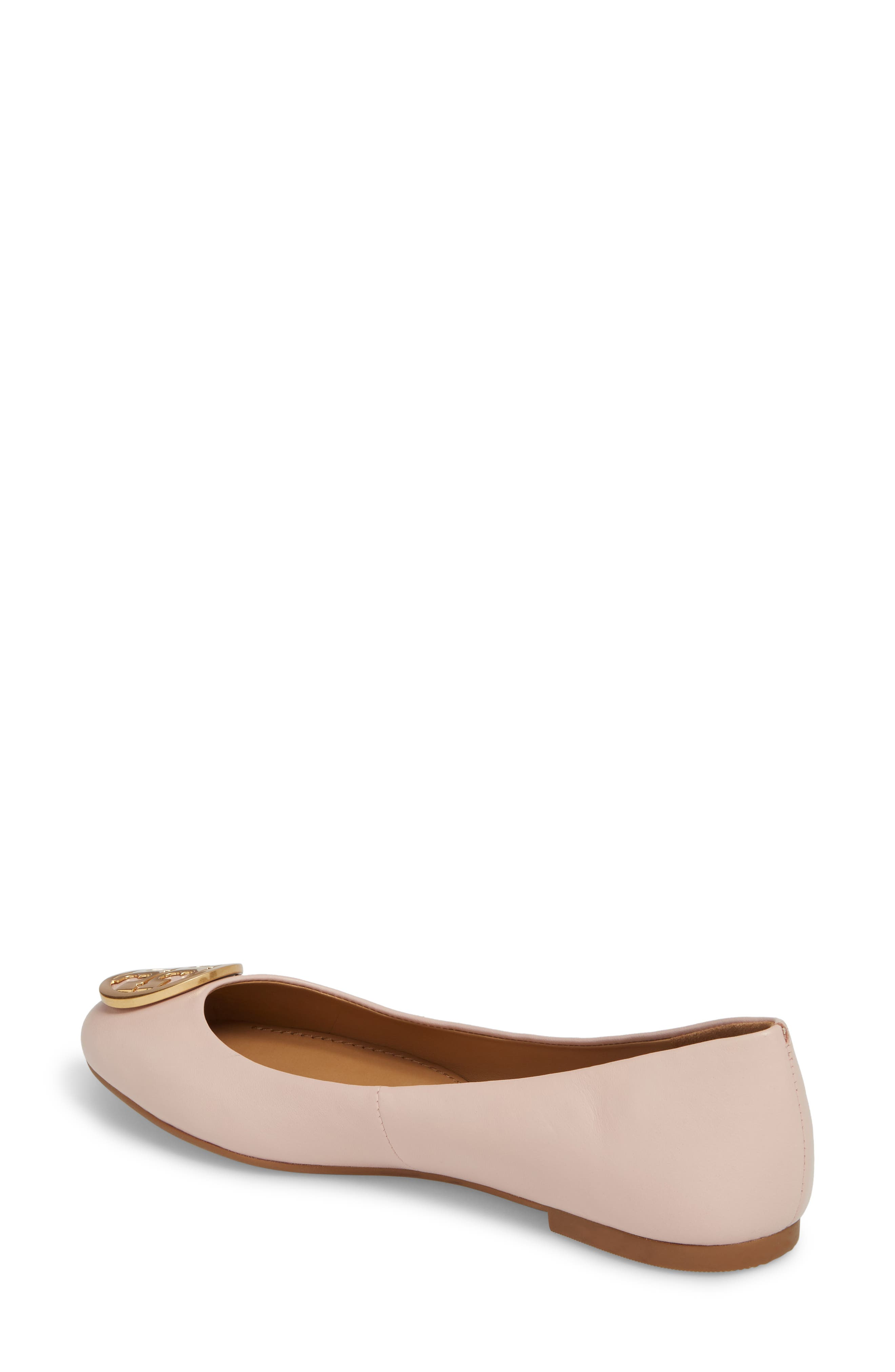 Benton Ballet Flat,                             Alternate thumbnail 2, color,                             Sea Shell Pink