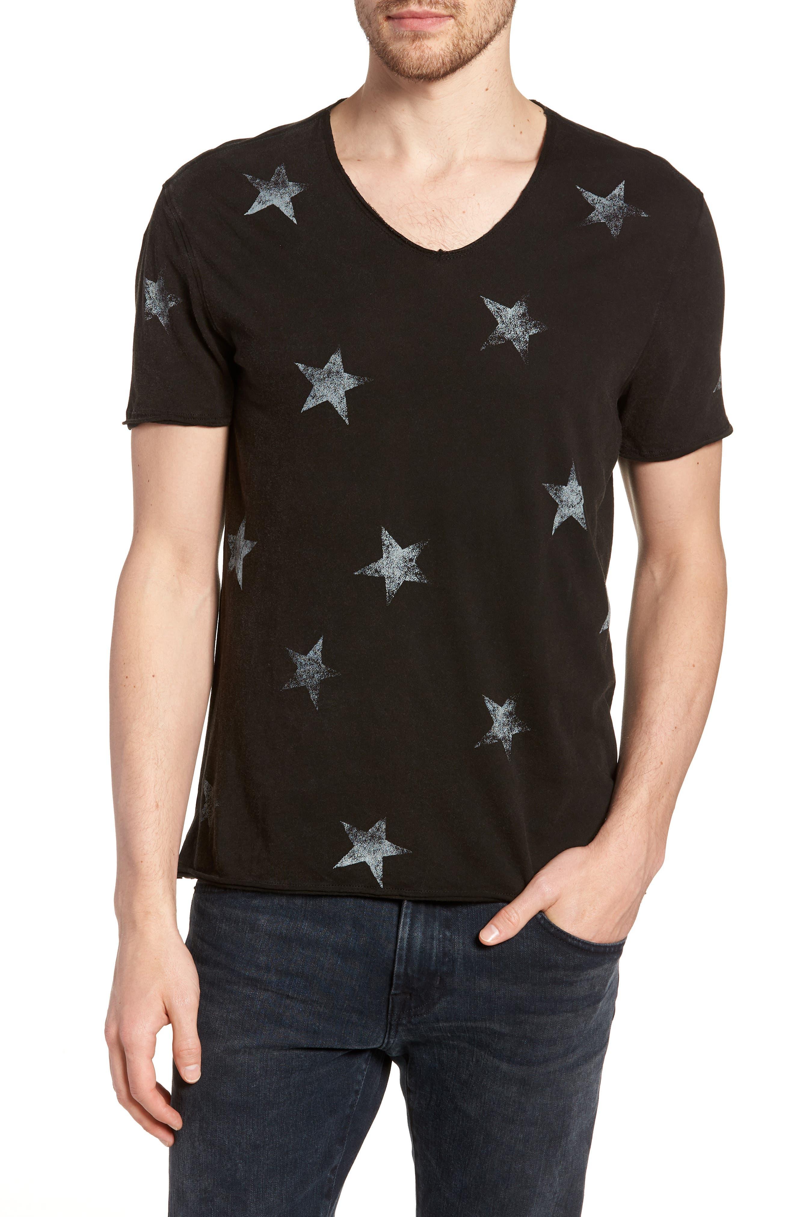 John Varvatos Star USA Regular Fit Crewneck T-Shirt
