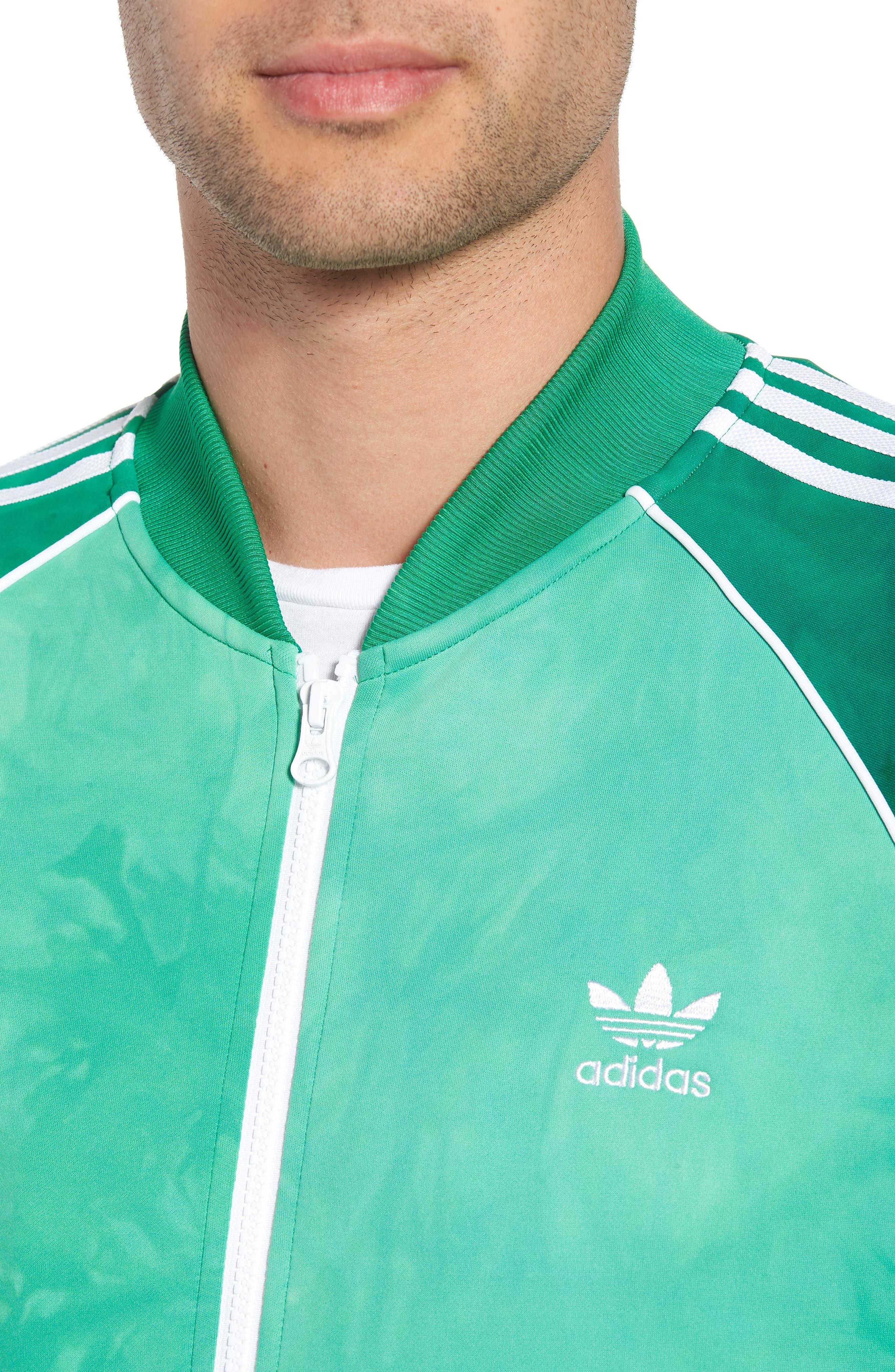 Hu Holi Track Jacket,                             Alternate thumbnail 4, color,                             Green