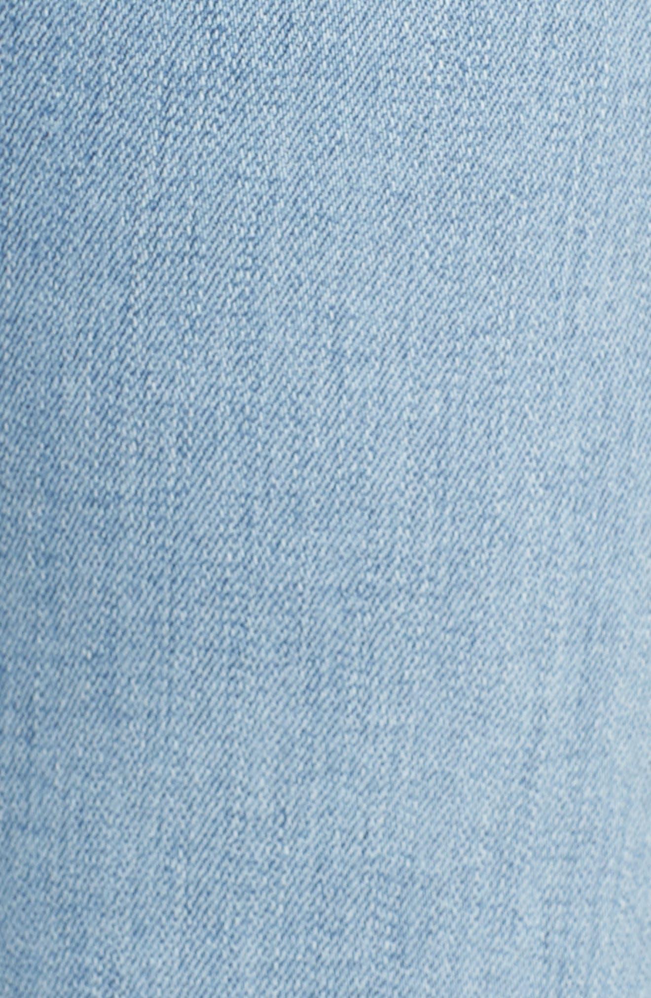 Tally Cuffed Crop Skinny Jeans,                             Alternate thumbnail 6, color,                             Gemini