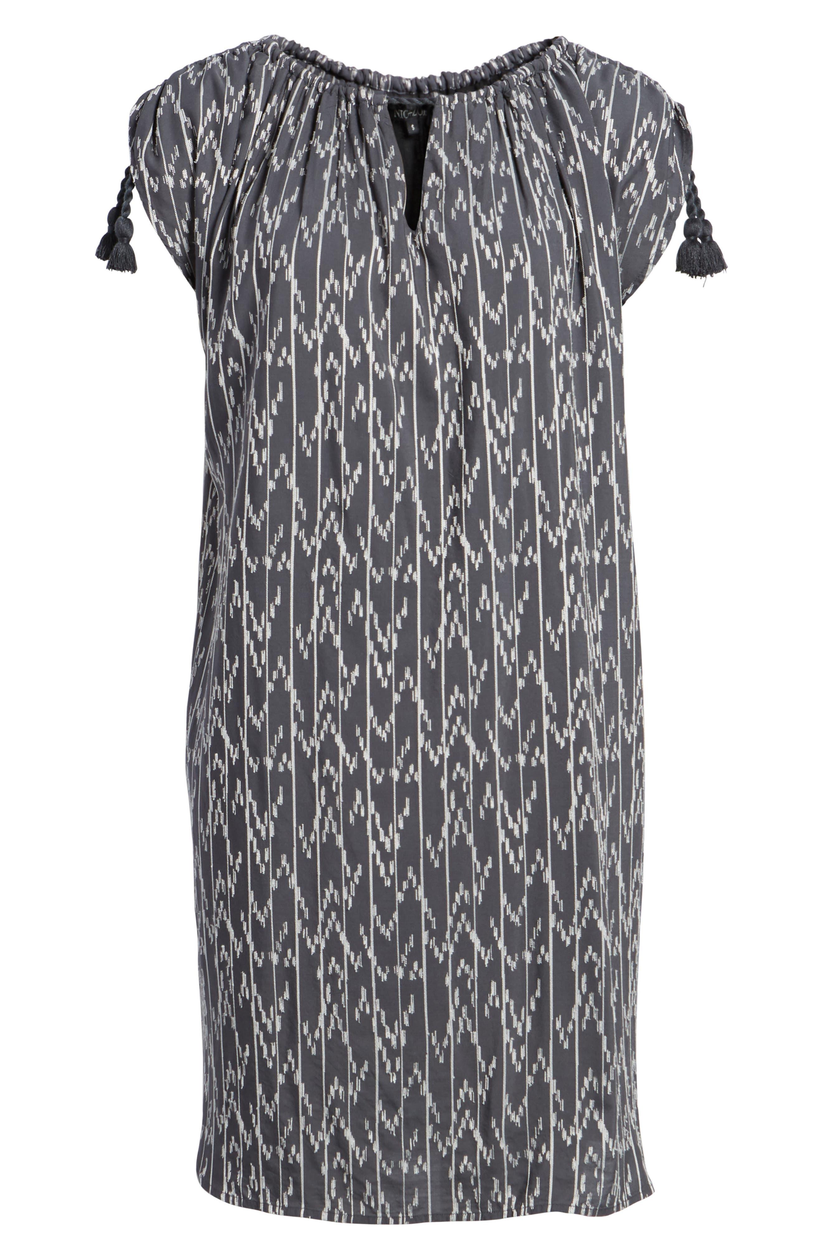 Market Embroidered Shirt Dress,                             Alternate thumbnail 7, color,                             Multi