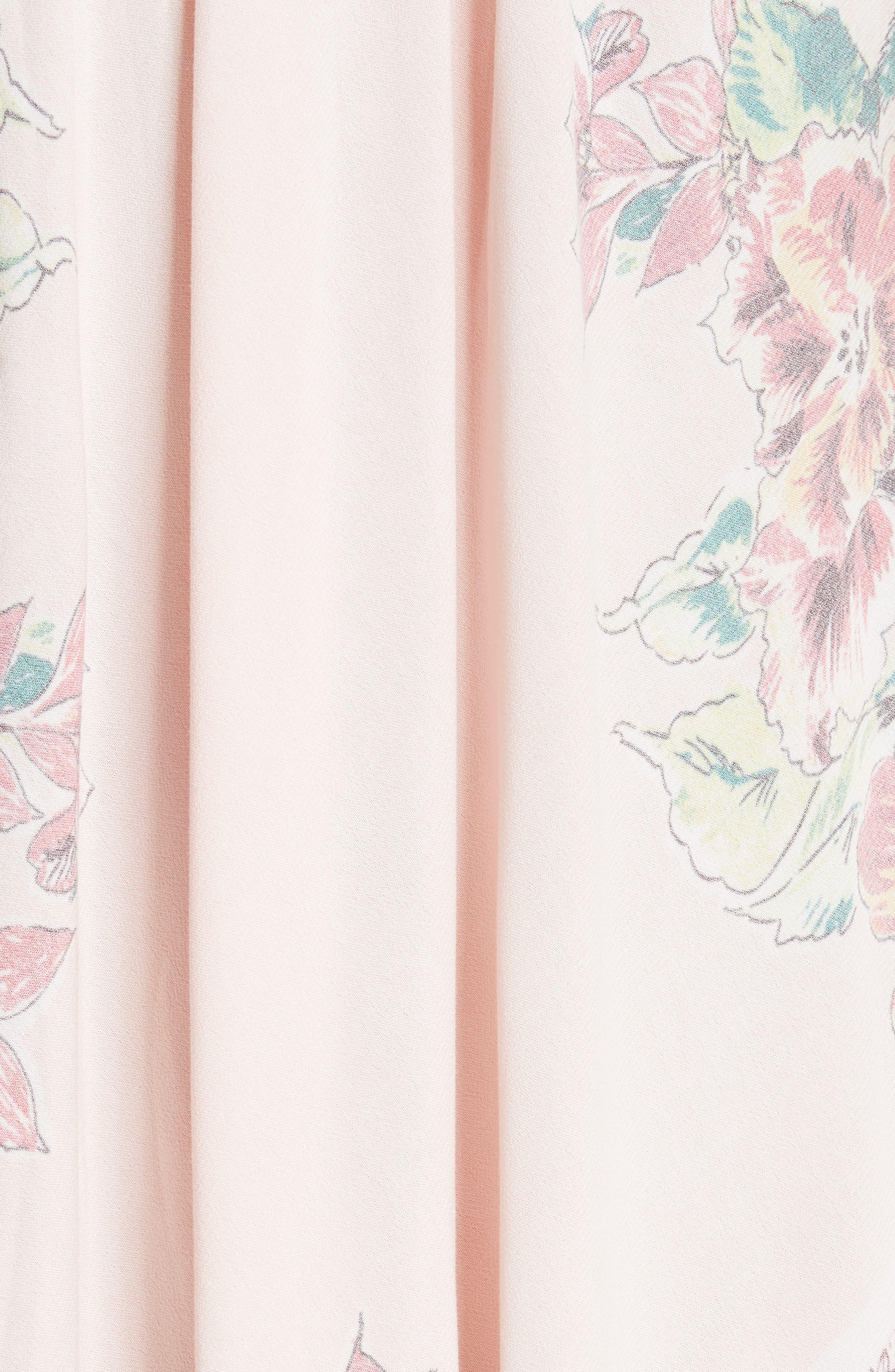 Mind's Eye Maxi Dress,                             Alternate thumbnail 5, color,                             Pink