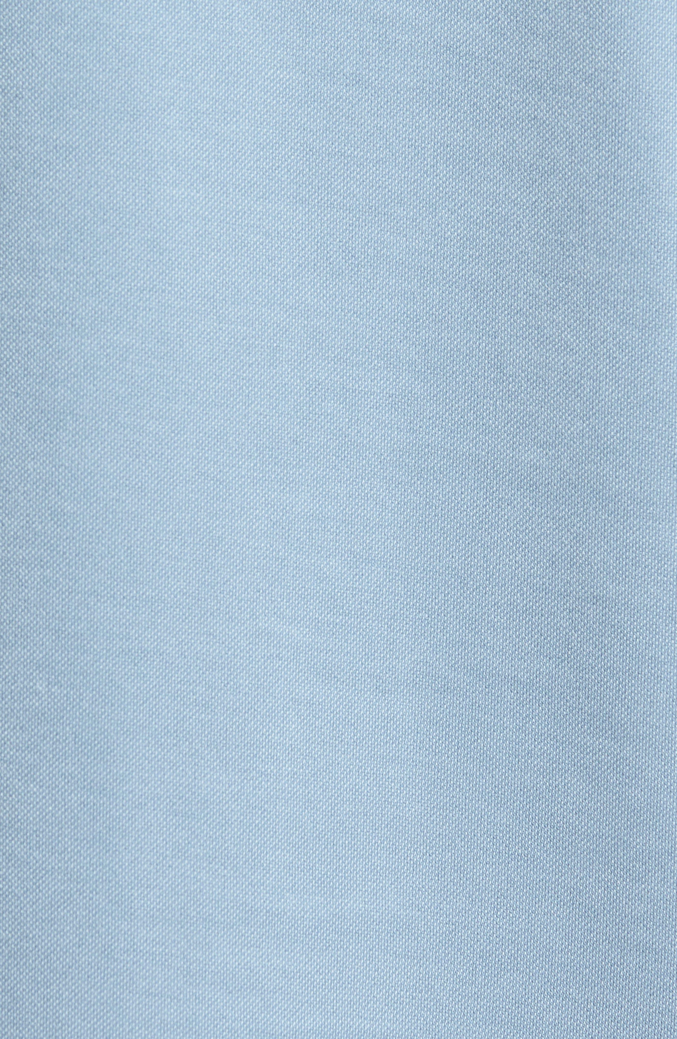Howl Trim Fit Polo Shirt,                             Alternate thumbnail 5, color,                             Blue