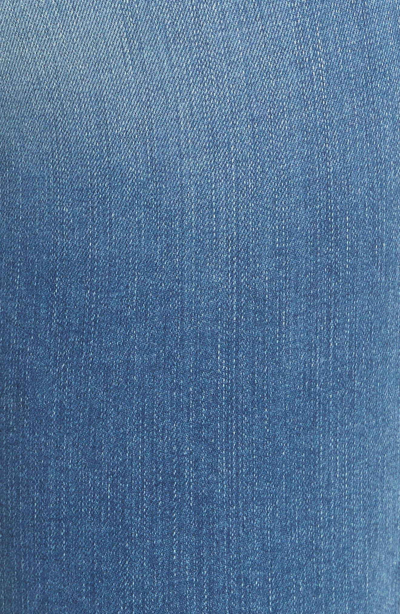 Le Skinny de Jeanne Crop Jeans,                             Alternate thumbnail 5, color,                             Timberland Exclusive