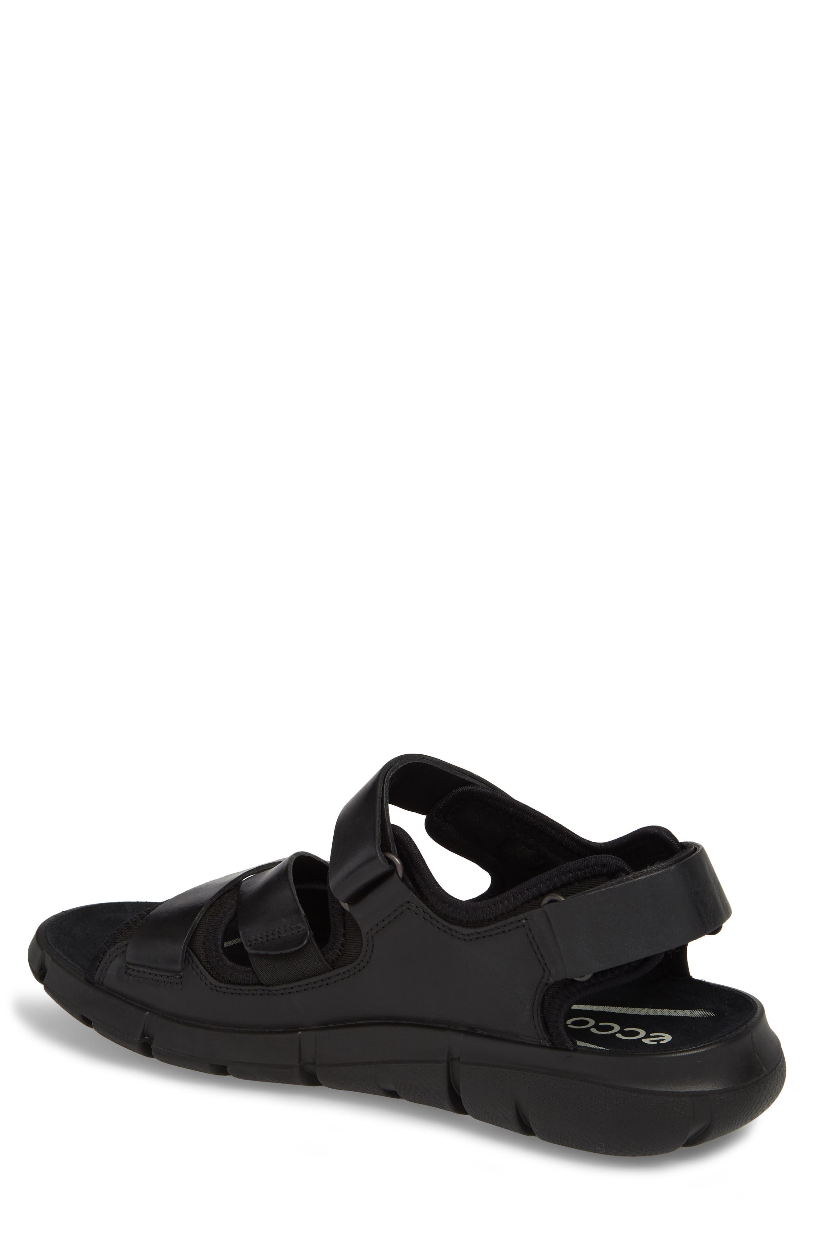 Intrinsic 2 Sandal,                             Alternate thumbnail 2, color,                             Black Leather
