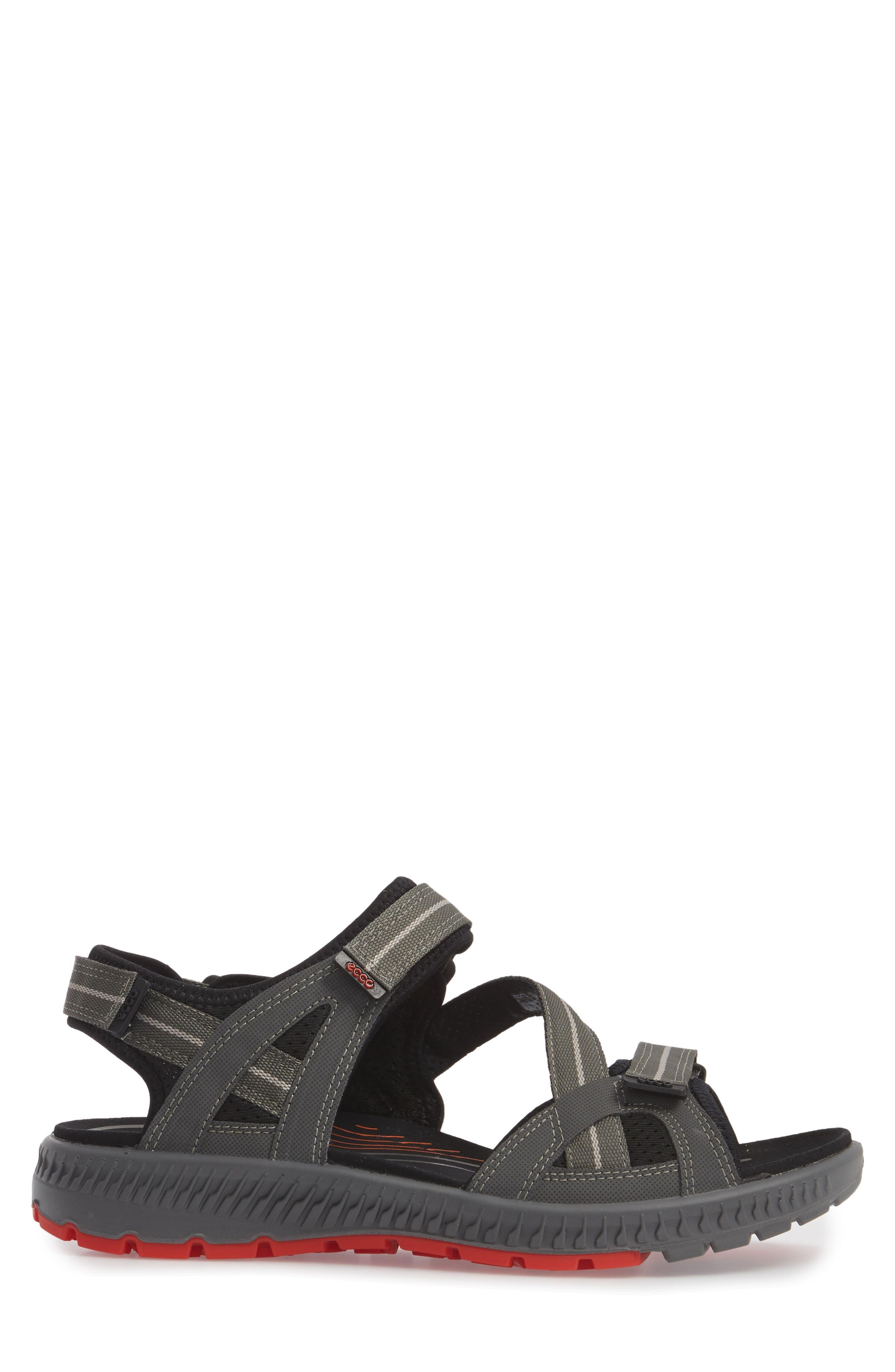 Terra Sandal,                             Alternate thumbnail 3, color,                             Dark Shadow Leather