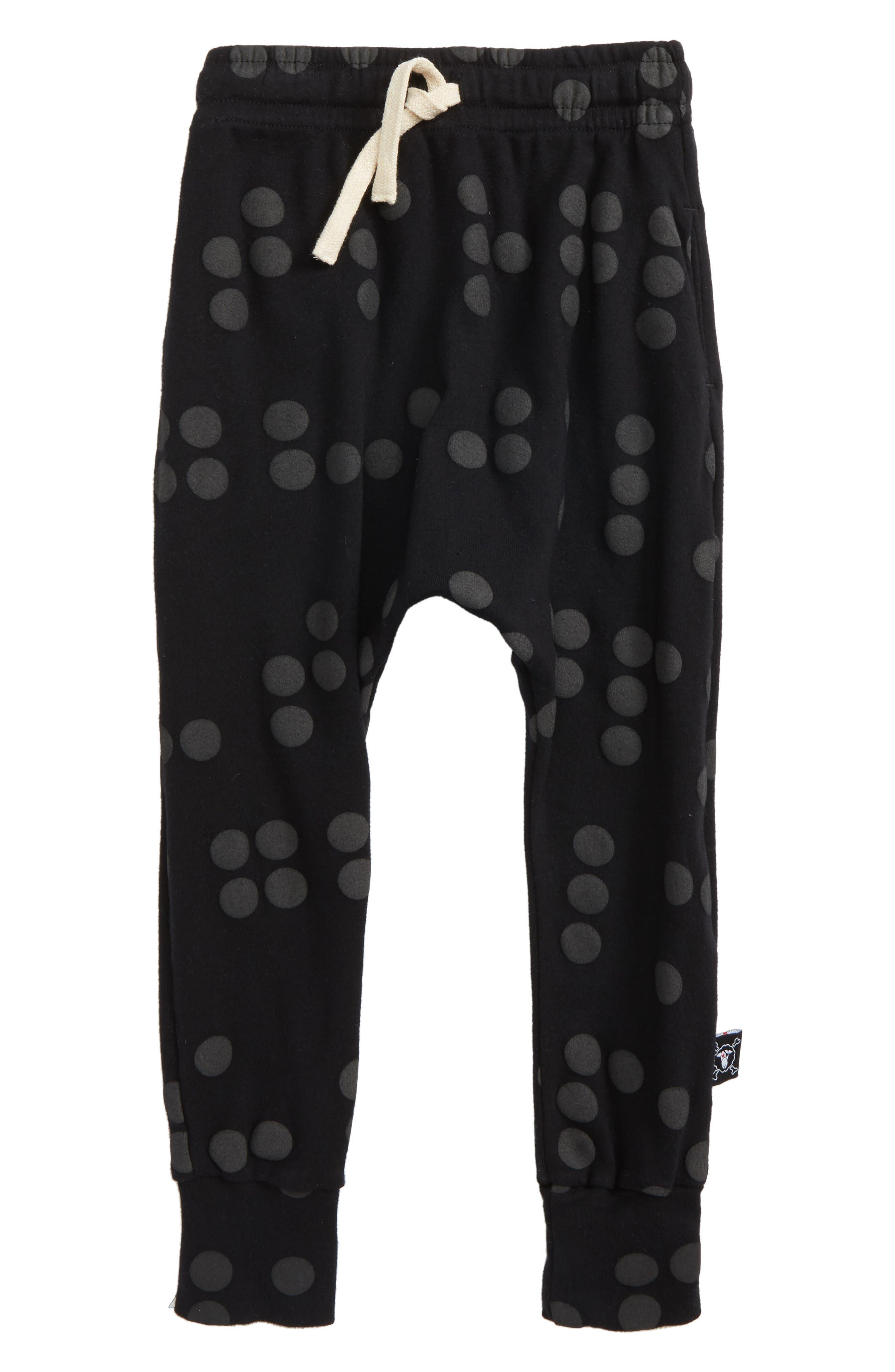 Braille Jogger Pants,                             Main thumbnail 1, color,                             Black