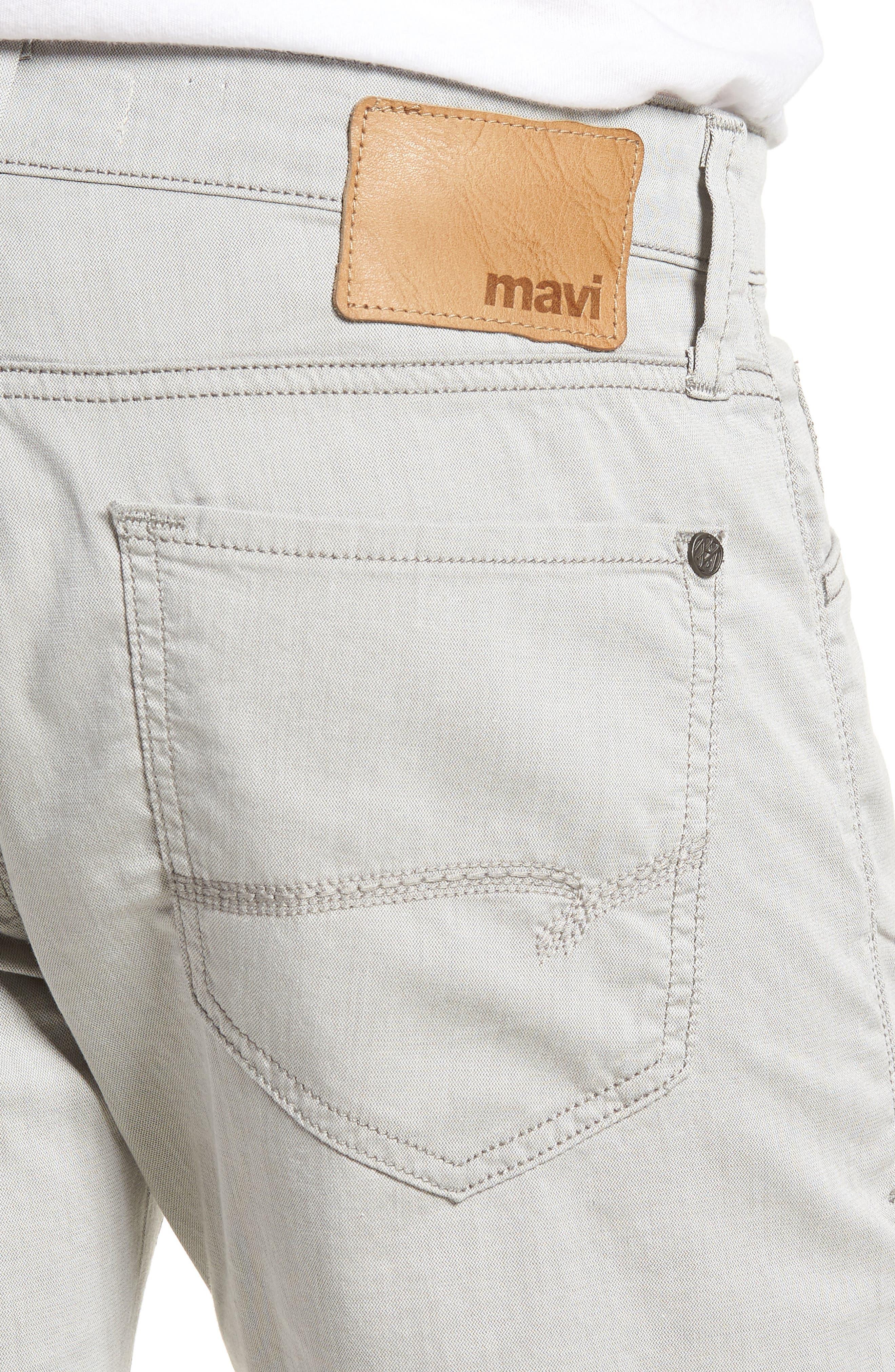 Jake Slim Fit Jeans,                             Alternate thumbnail 4, color,                             Latte Reversed