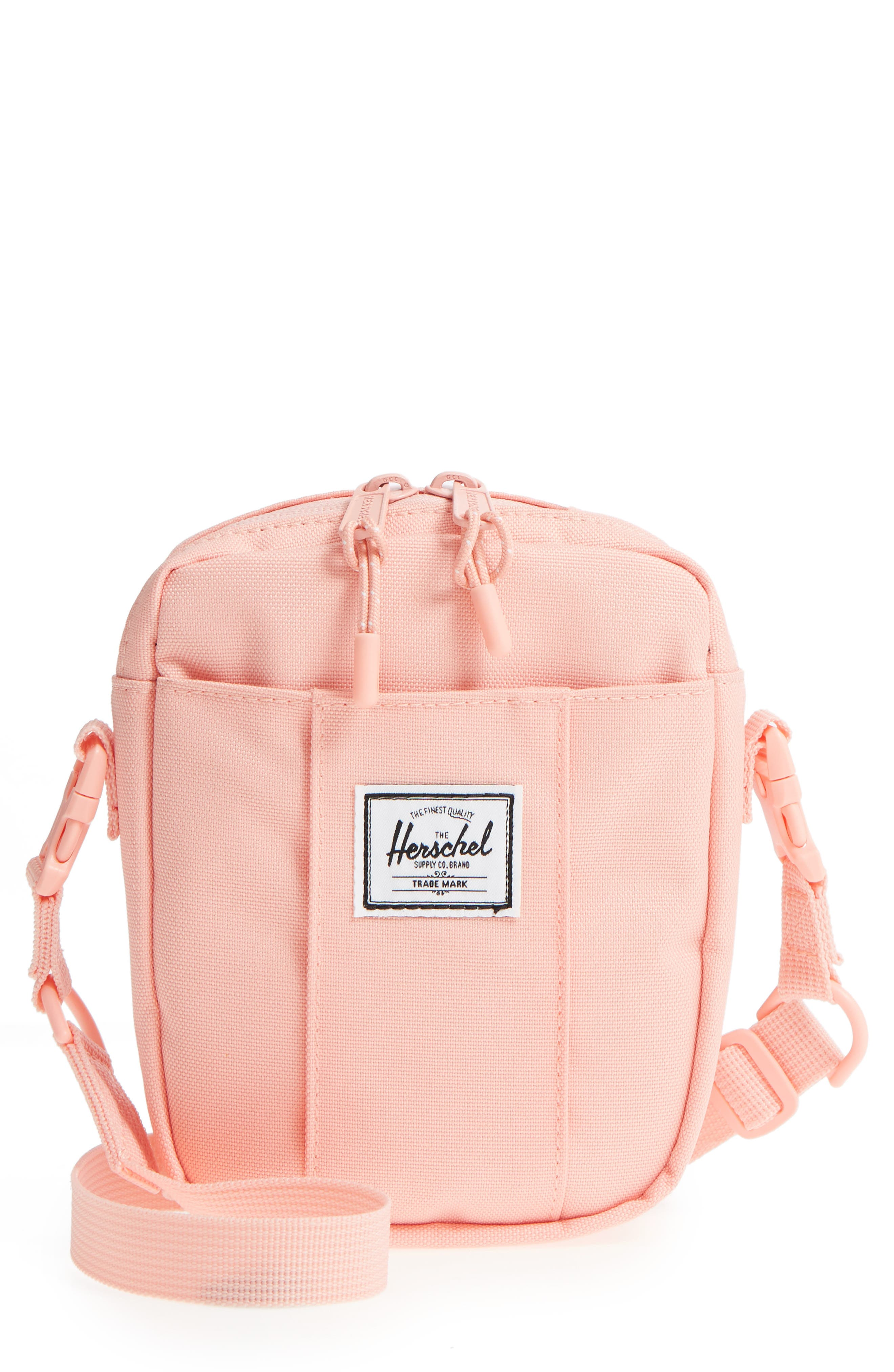 HERSCHEL SUPPLY CO. CRUZ CROSSBODY BAG - PINK 9447890fc6f8d