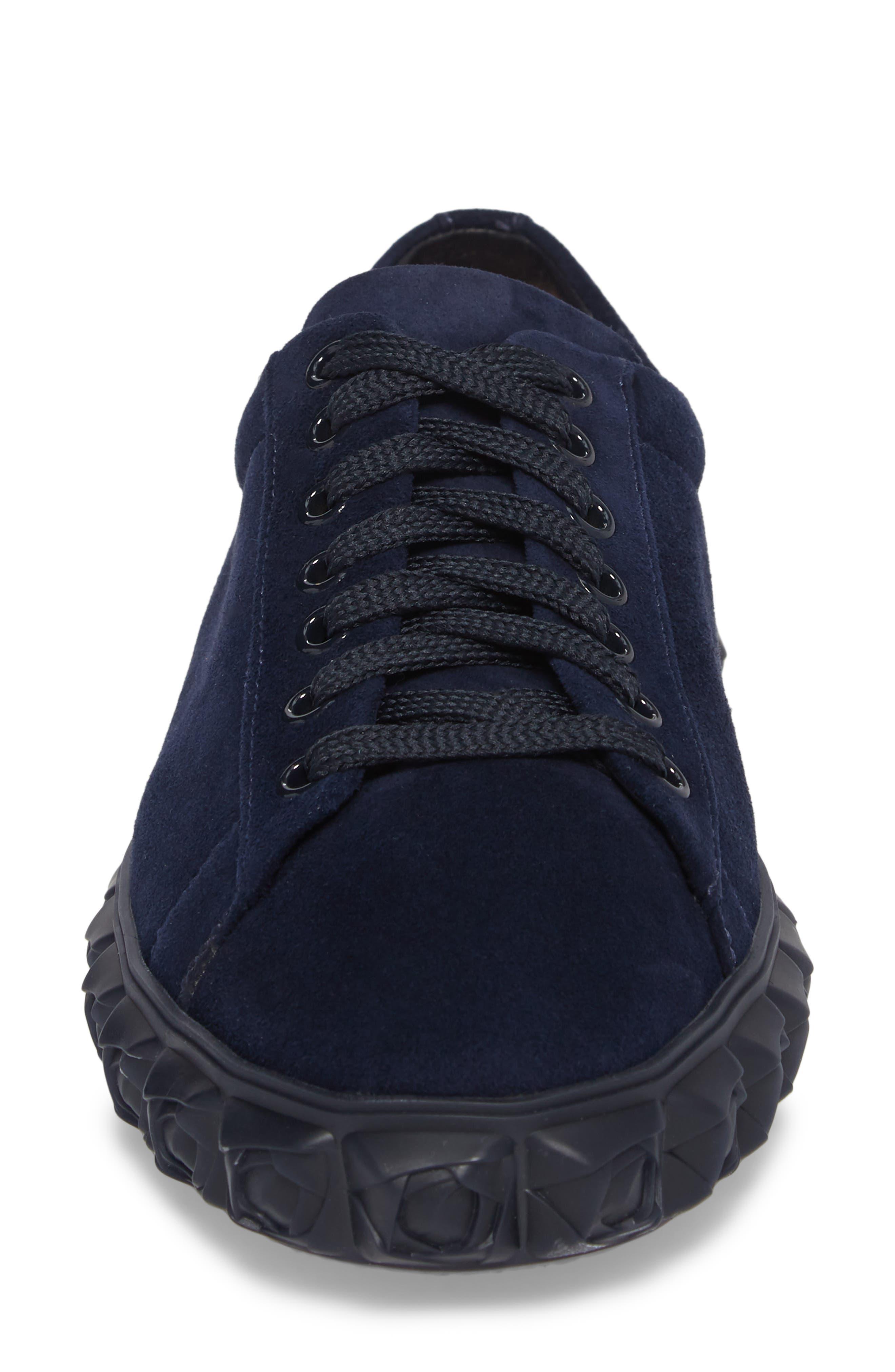 Coverstory Sneaker,                             Alternate thumbnail 5, color,                             Navy Seda Suede
