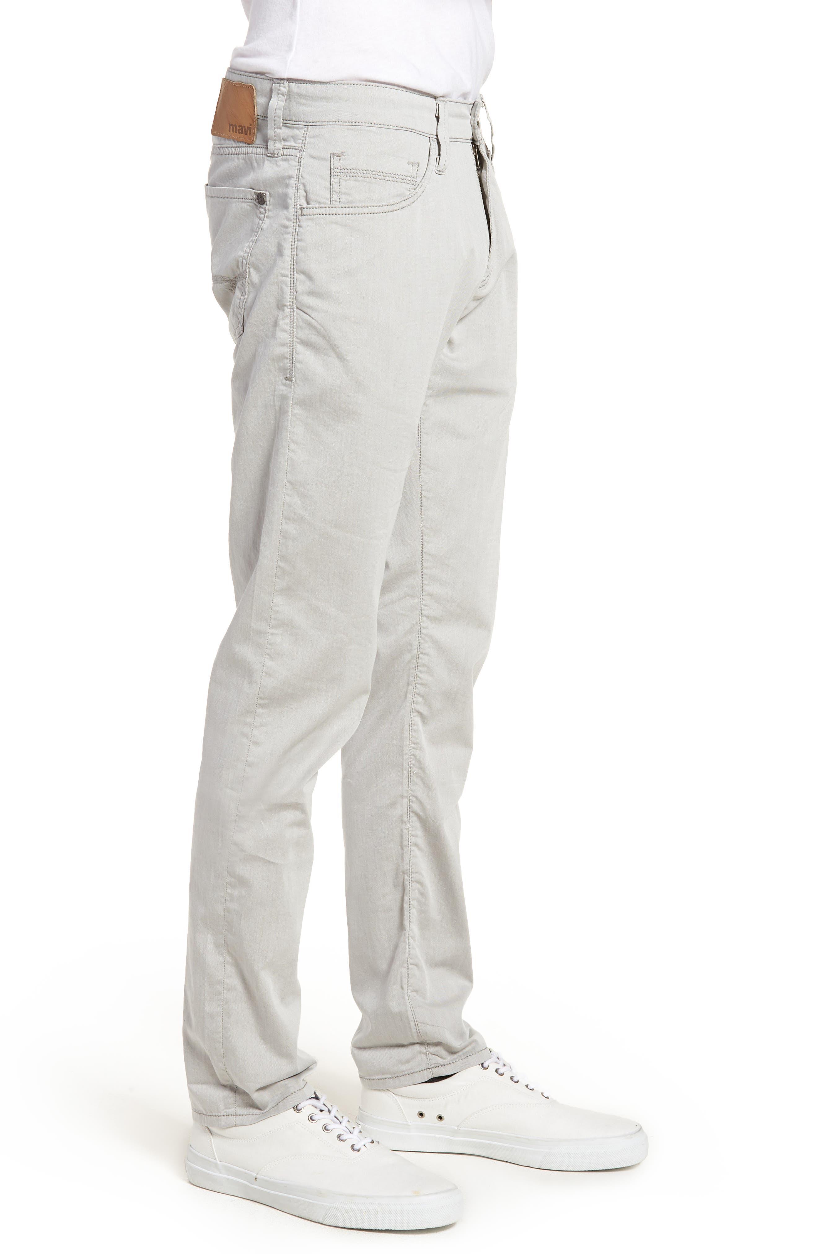 Jake Slim Fit Jeans,                             Alternate thumbnail 3, color,                             Latte Reversed