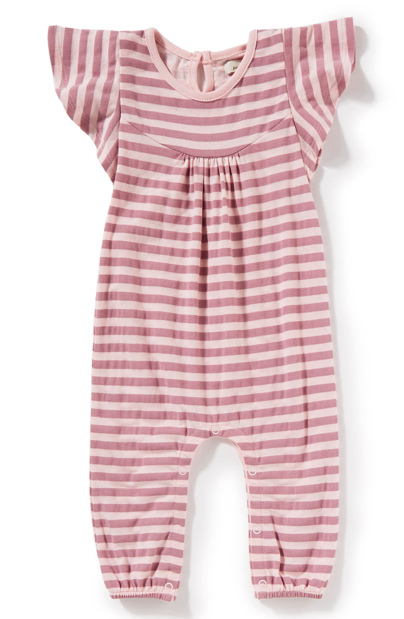 Peek Sailor Stripe Bubble Romper (Baby Girls)