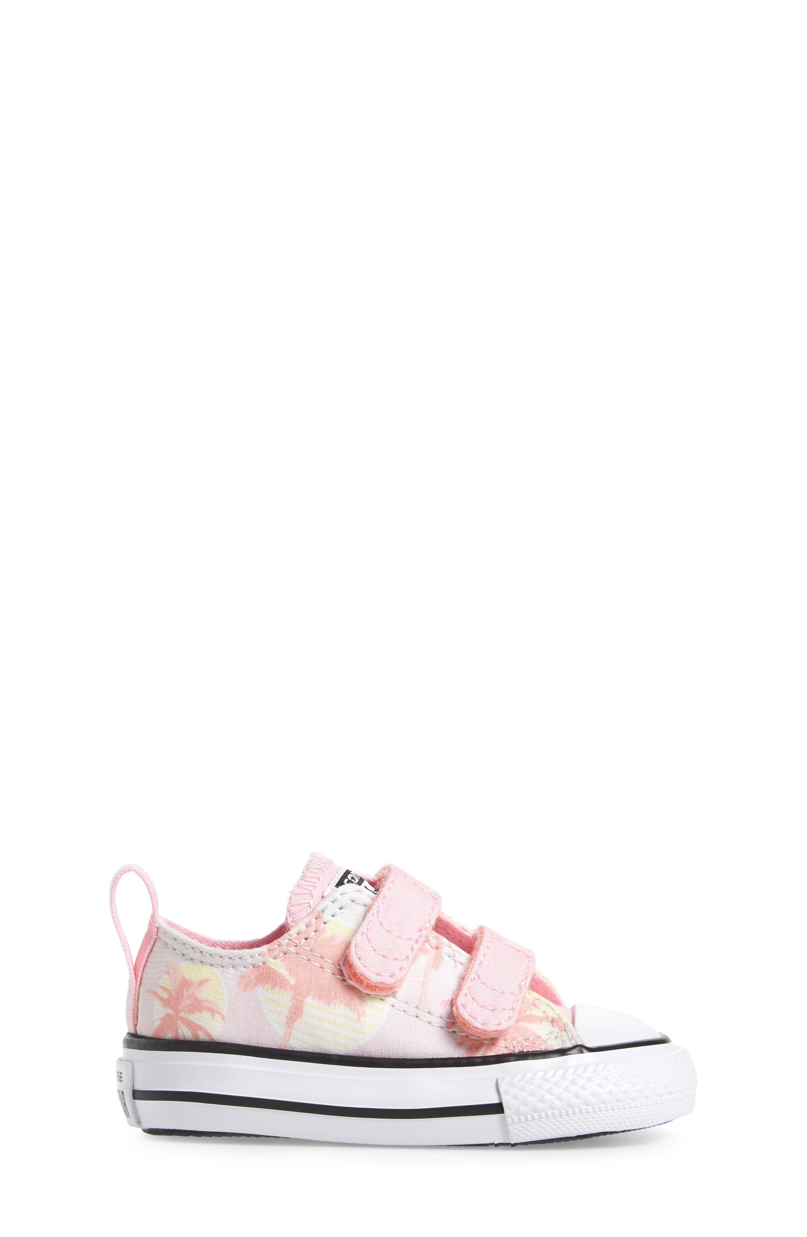 Chuck Taylor<sup>®</sup> All Star<sup>®</sup> Palm Tree Sneaker,                             Alternate thumbnail 3, color,                             Barely Green