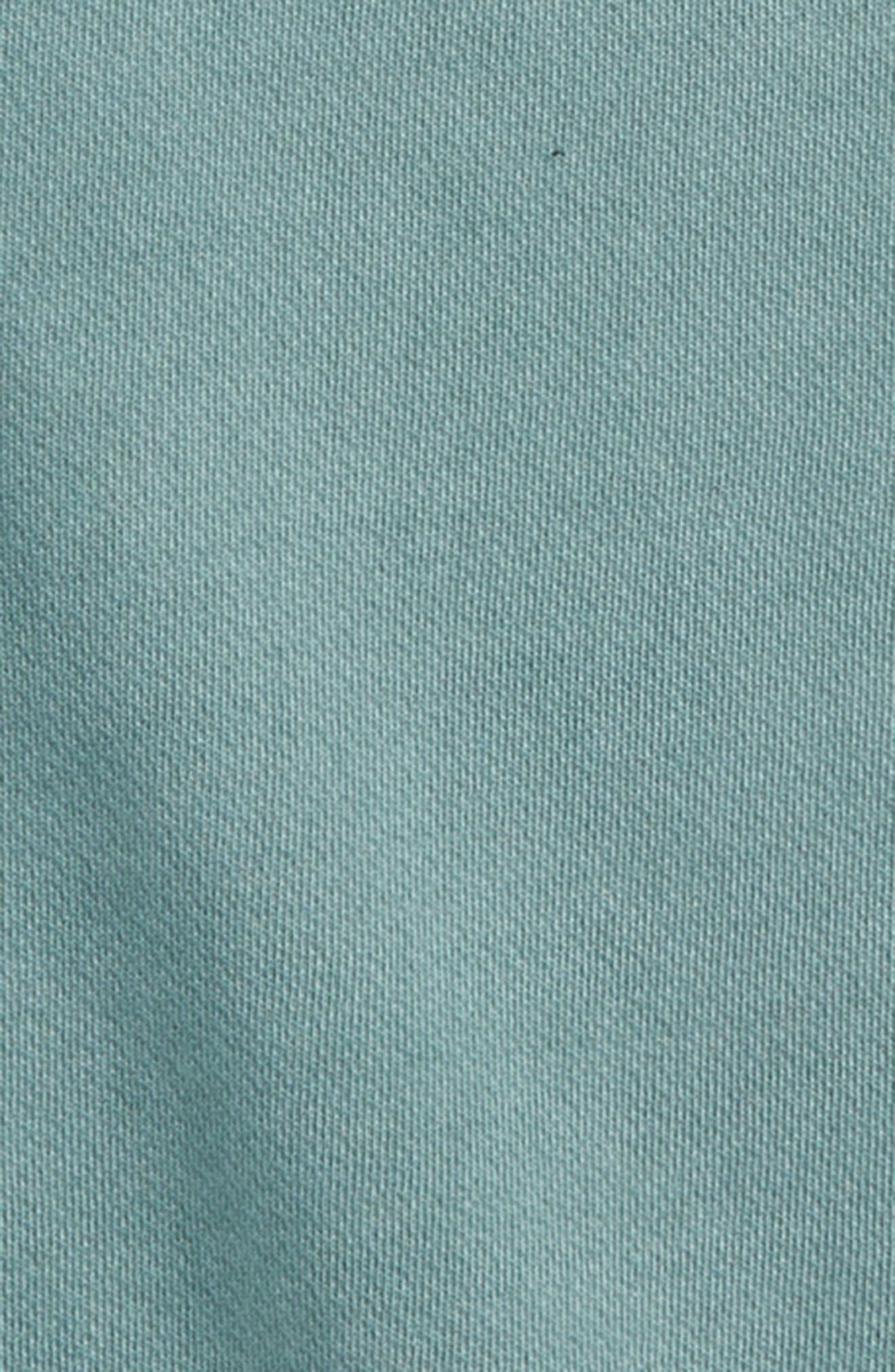 Washed Sweatshirt,                             Alternate thumbnail 2, color,                             Teal Pond