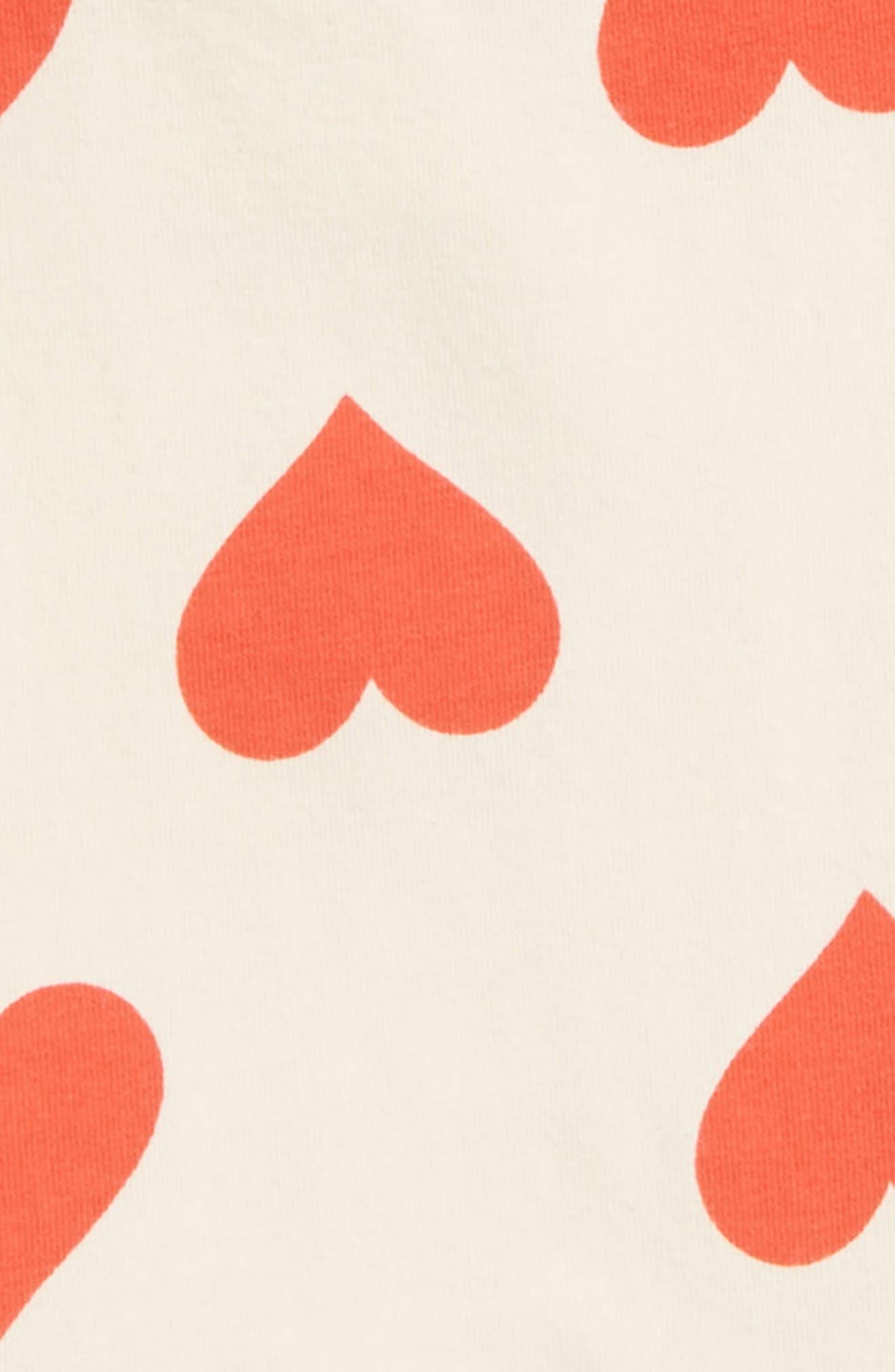 Sweetheart Skirted Bodysuit,                             Alternate thumbnail 2, color,                             Ivory