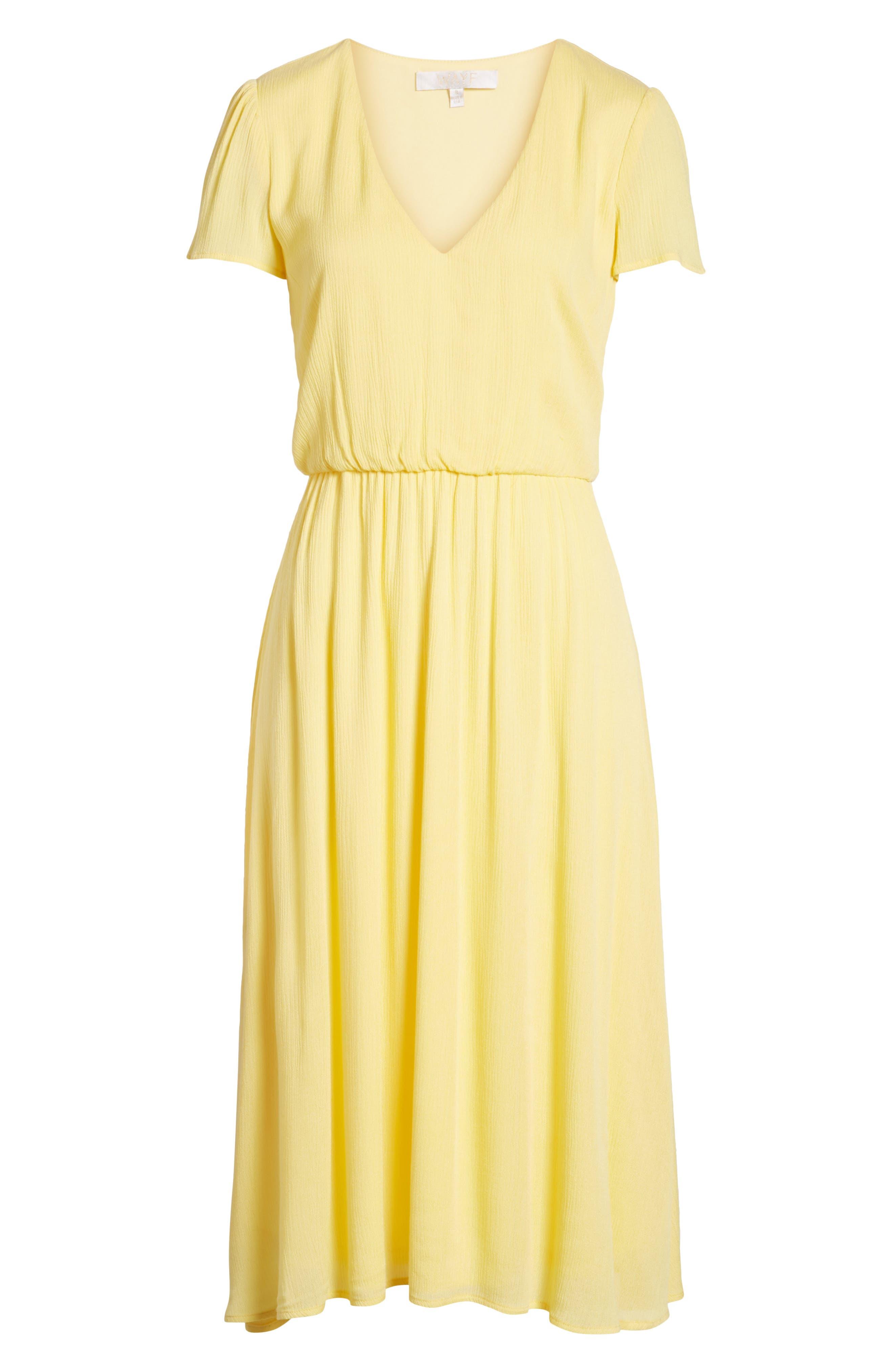 women's yellow dresses | nordstrom