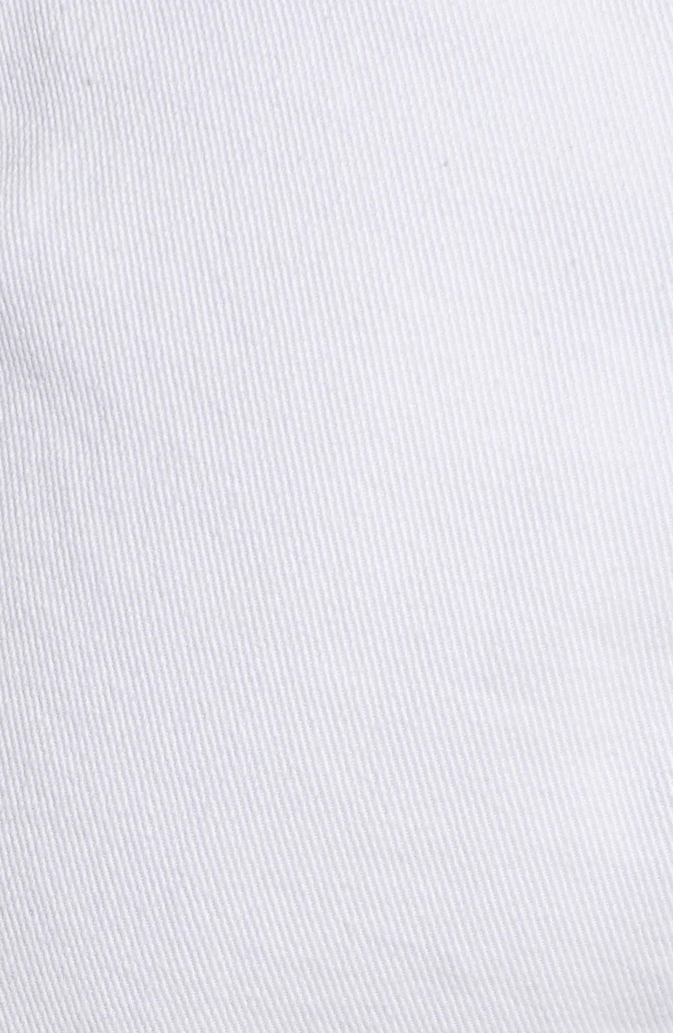 Soft Drape Utility Shorts,                             Alternate thumbnail 5, color,                             White