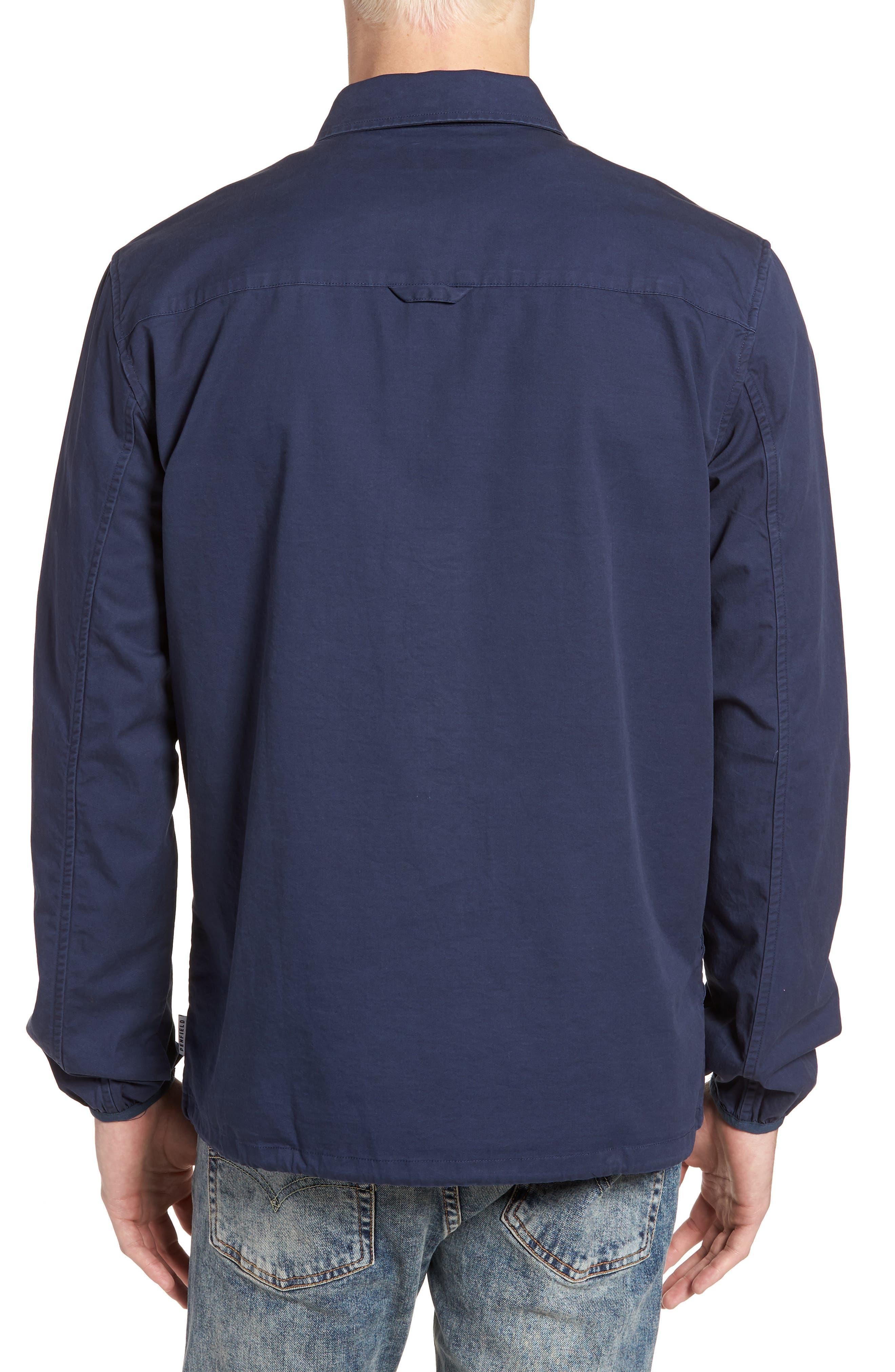 Blackstone Shirt Jacket,                             Alternate thumbnail 2, color,                             Navy