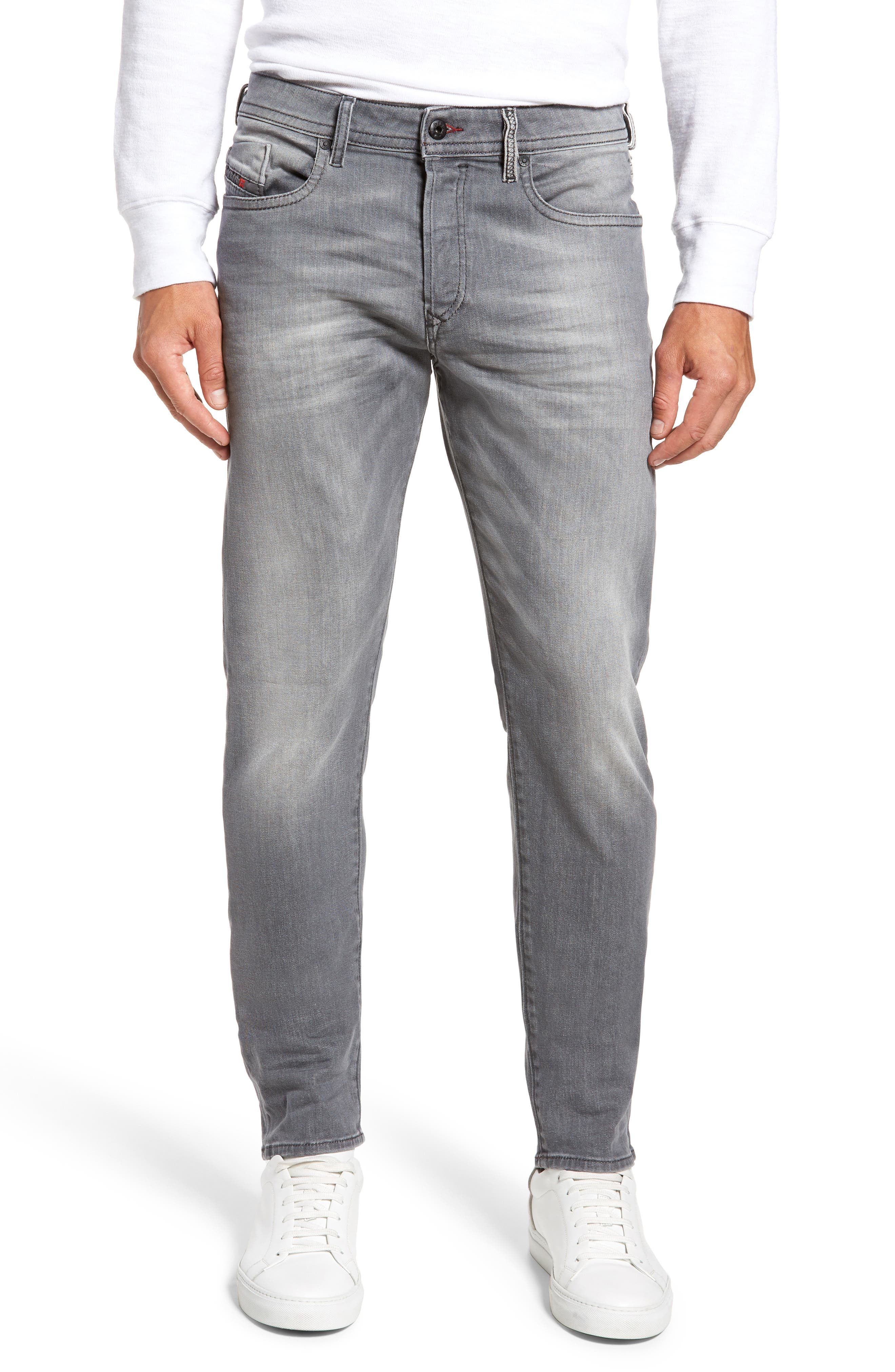 Buster Slim Straight Leg Jeans,                             Main thumbnail 1, color,                             084Hp