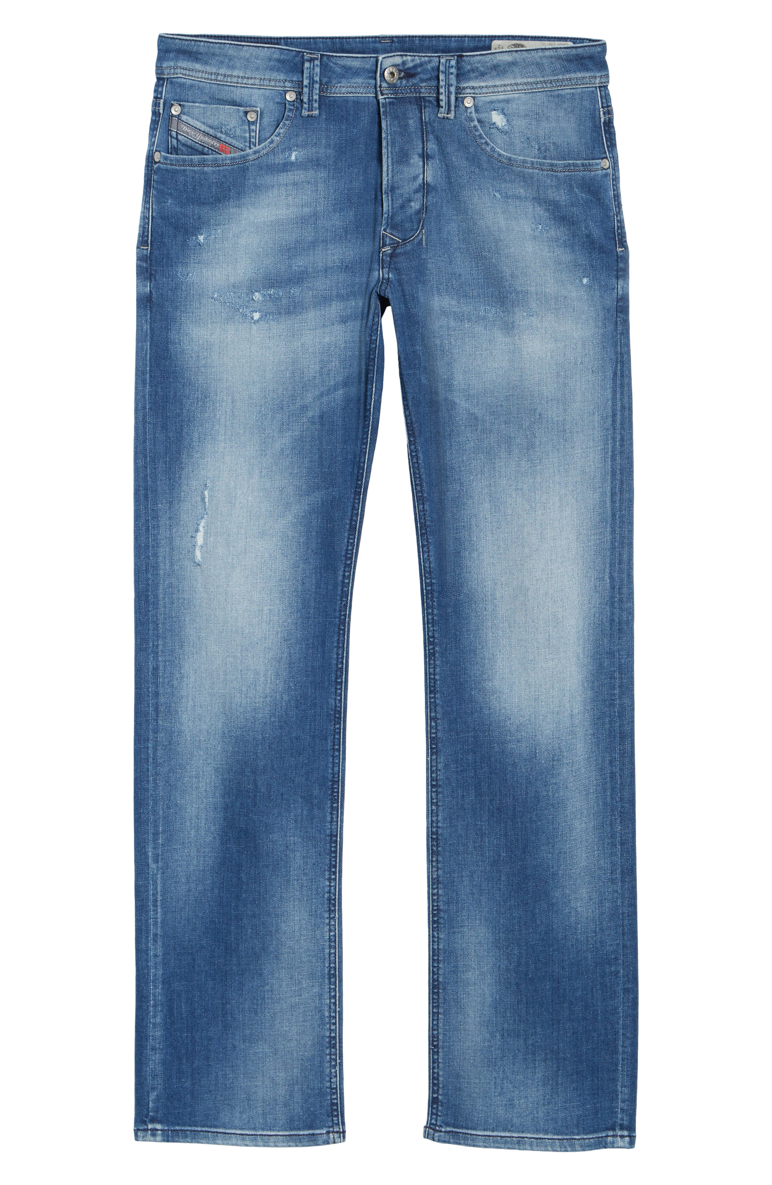 Larkee Relaxed Fit Jeans,                             Alternate thumbnail 6, color,                             084Qg