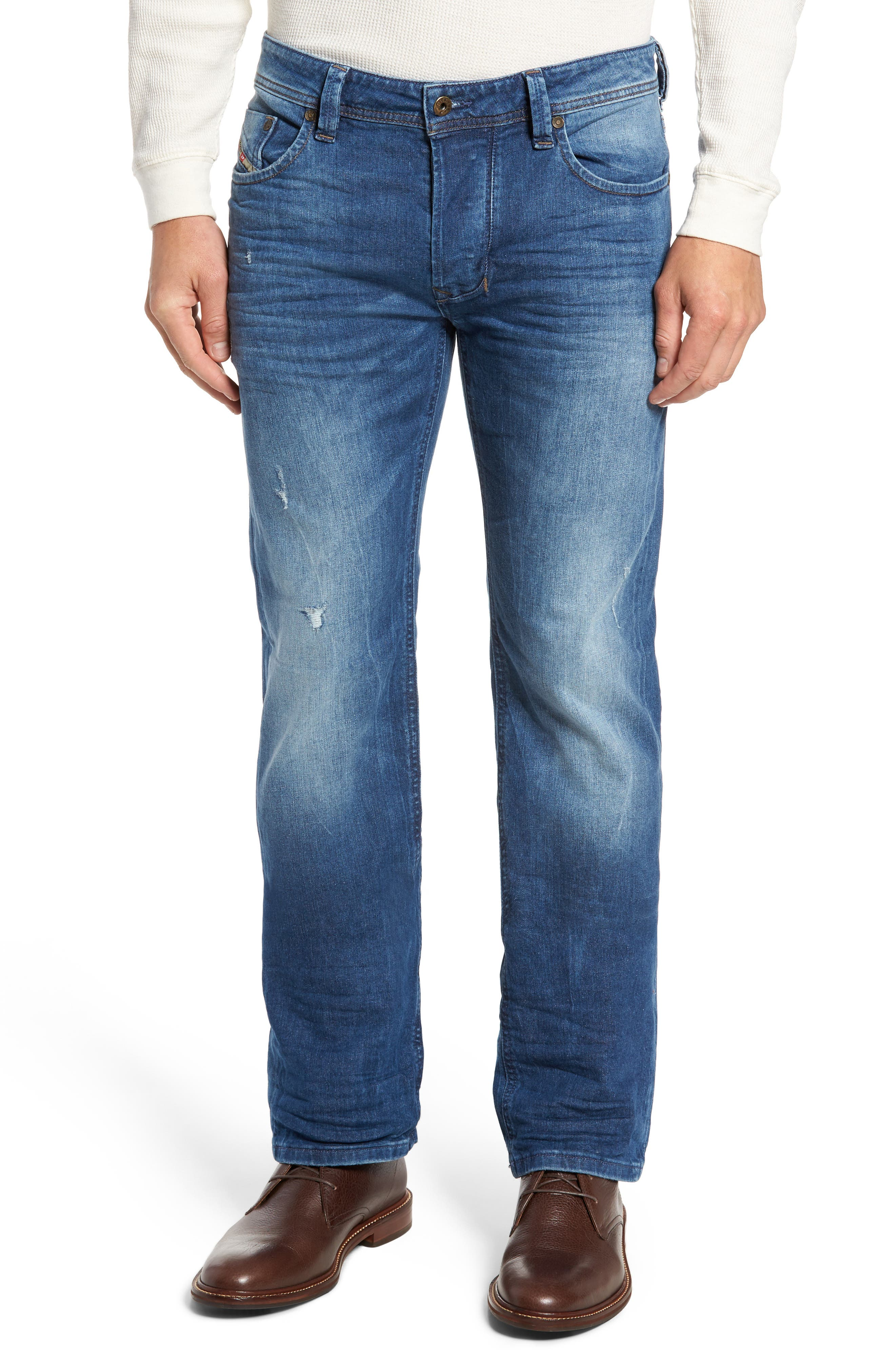 Larkee Relaxed Fit Jeans,                             Main thumbnail 1, color,                             C84ky
