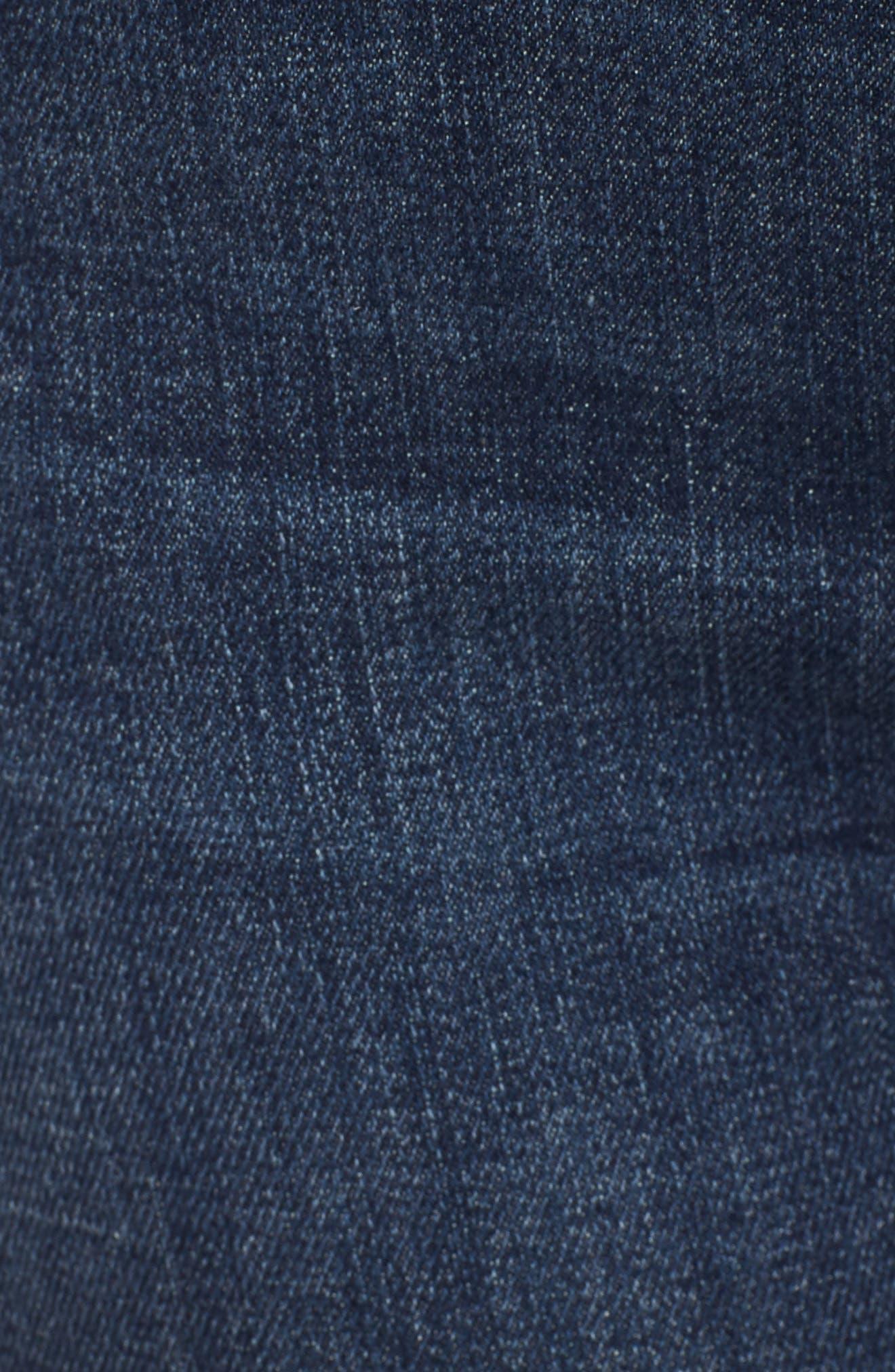 The Charmer Fray Denim Shorts,                             Alternate thumbnail 6, color,                             Girl Crush