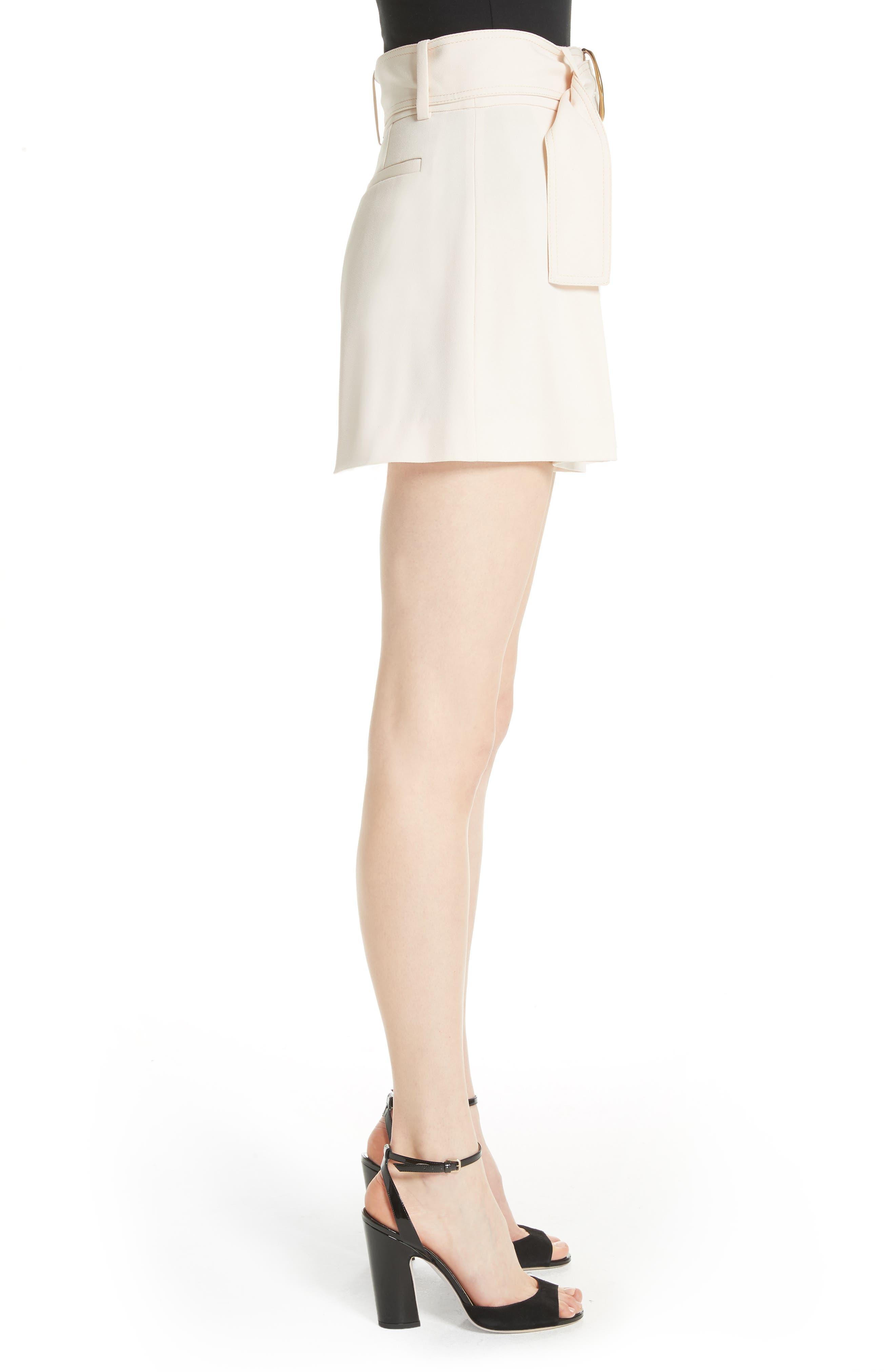 Belted Shorts,                             Alternate thumbnail 3, color,                             Sandstone