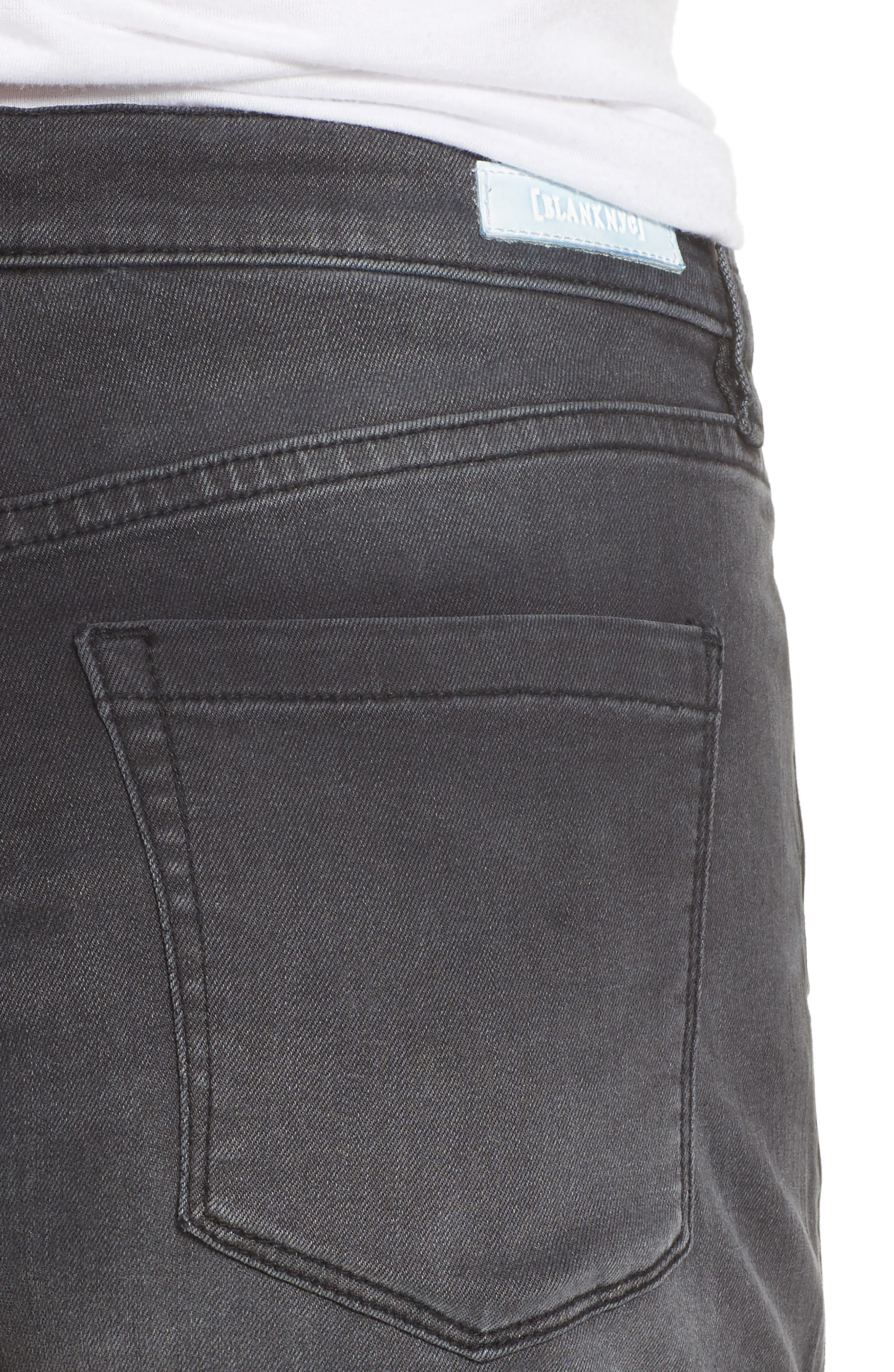 Alternate Image 4  - BLANKNYC The Fulton Cuff Hem Denim Shorts (Last Light)