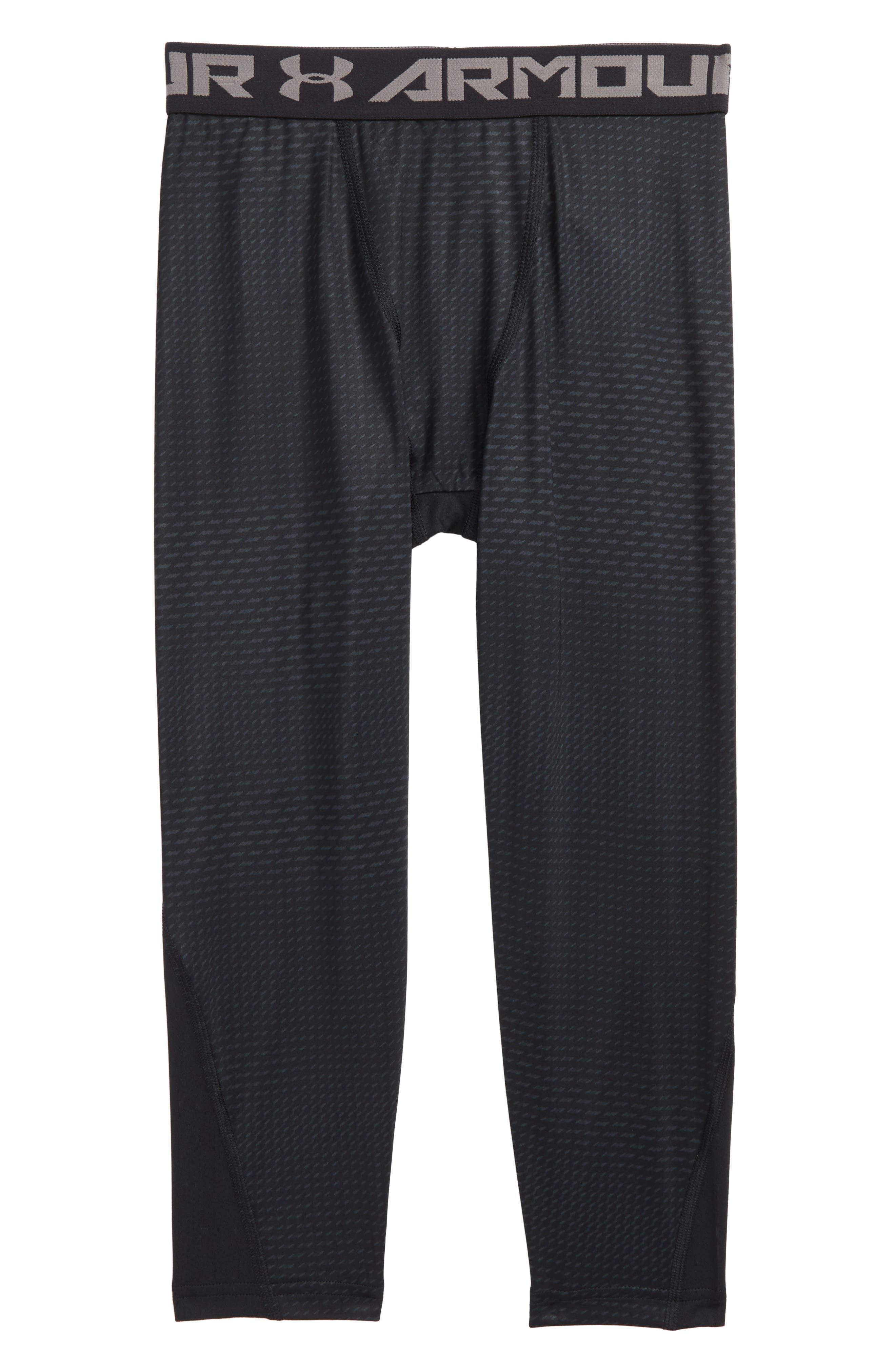 Novelty HeatGear<sup>®</sup> Leggings,                         Main,                         color, Black/ Graphite