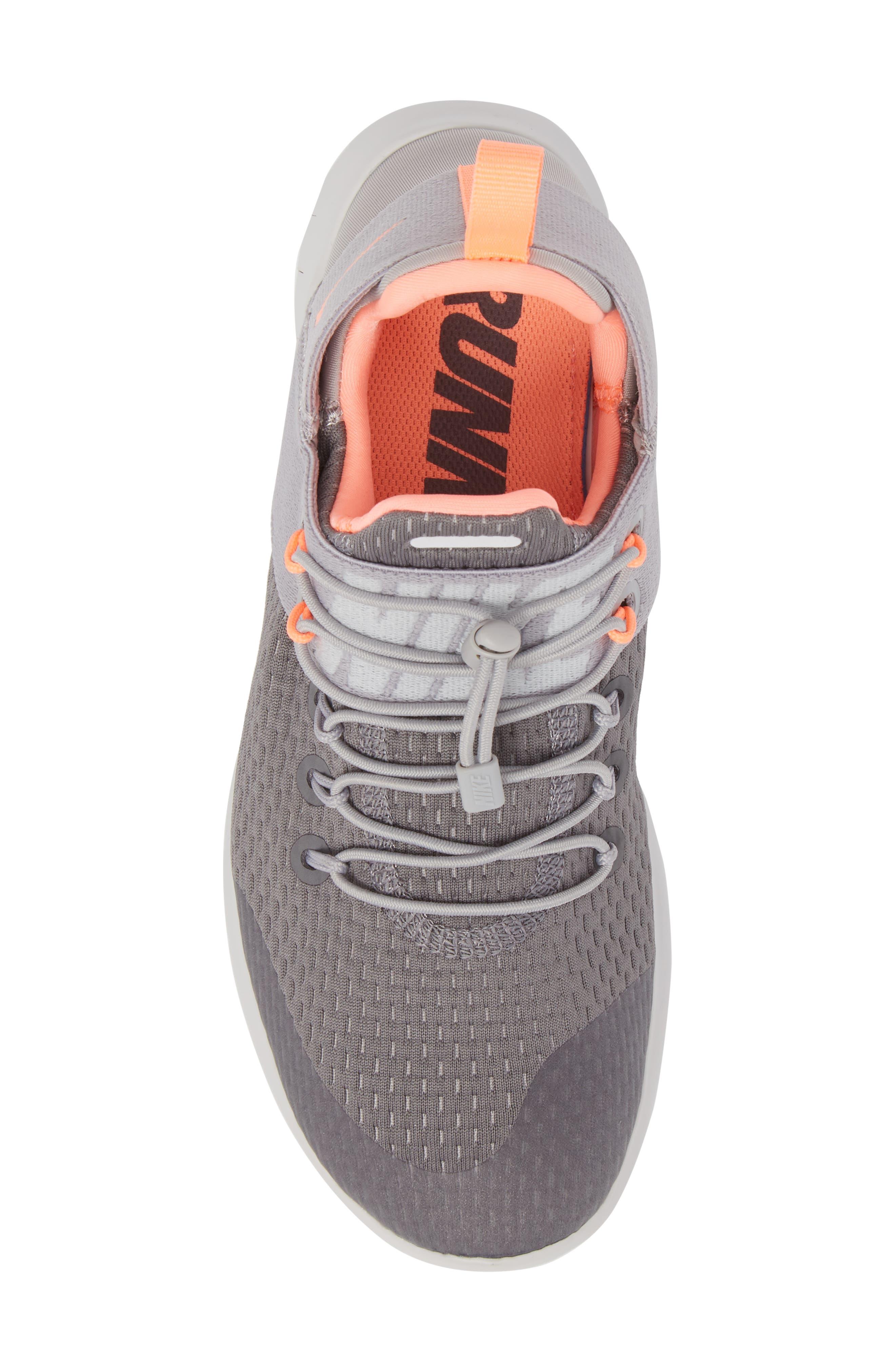 Free RN CMTR Running Shoe,                             Alternate thumbnail 5, color,                             Gunsmoke/ Crimson Pulse