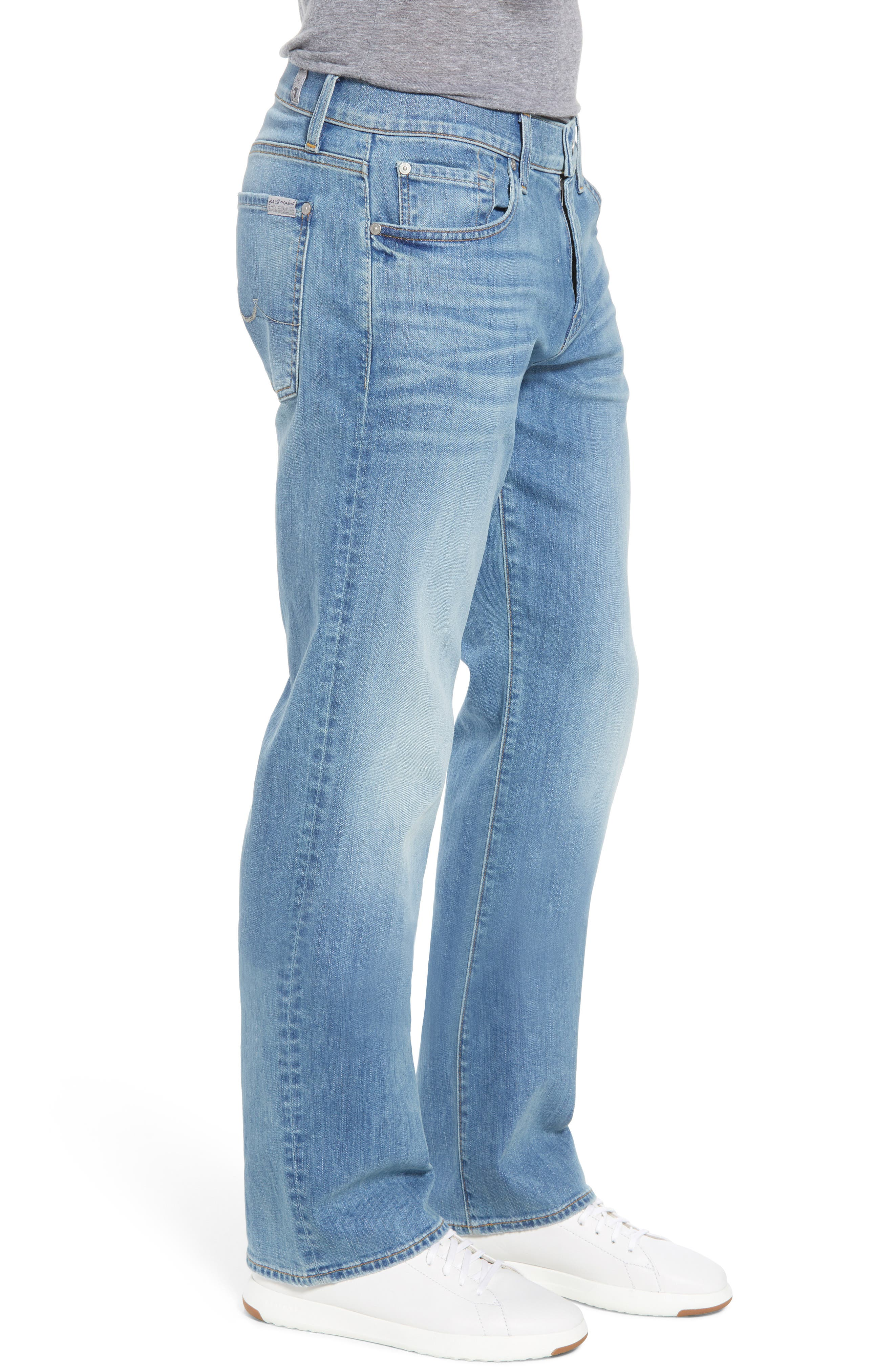 Austyn - Luxe Performance Relaxed Fit Jeans,                             Alternate thumbnail 3, color,                             Vahalla