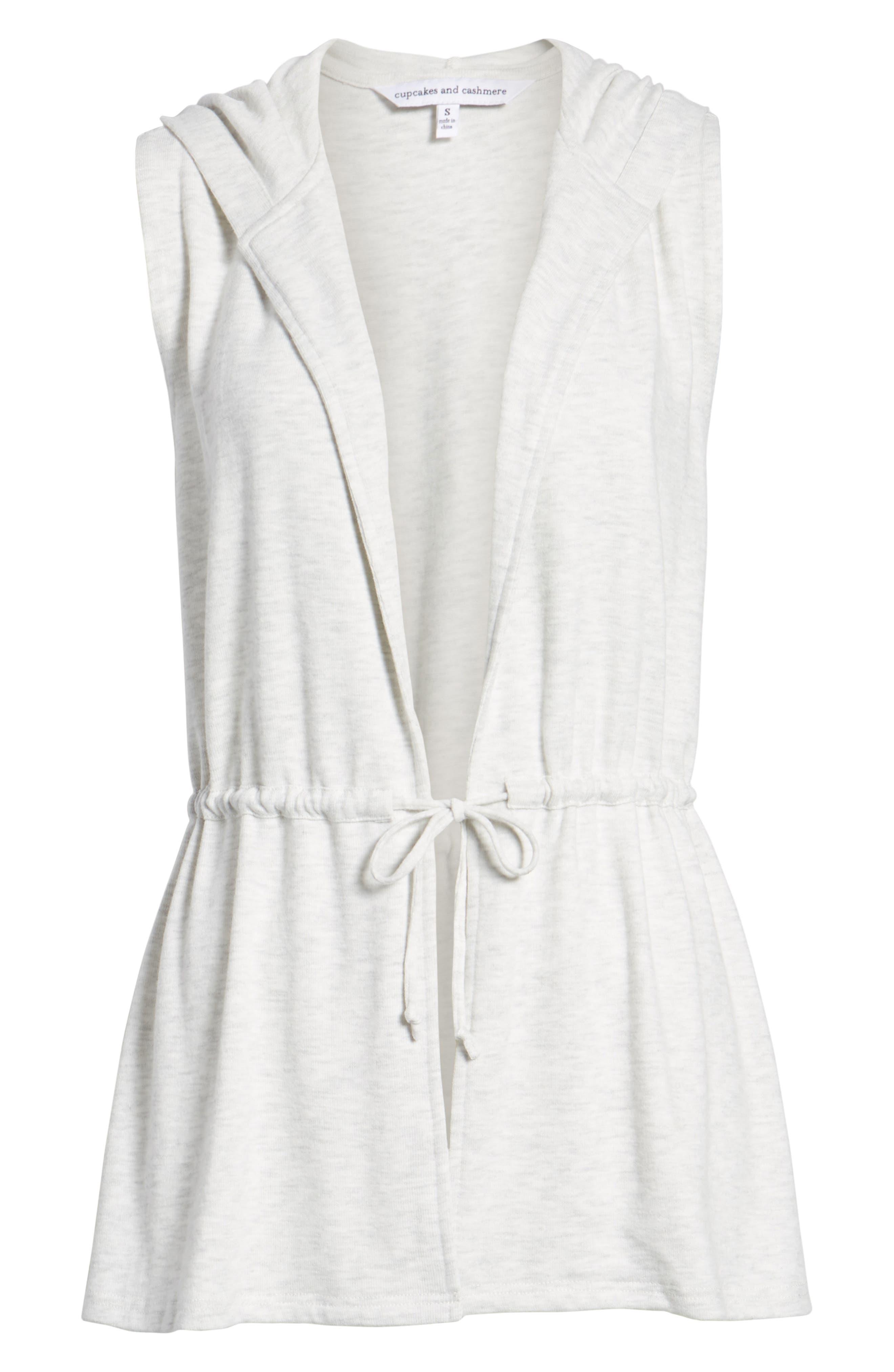 Able Hooded Vest,                             Alternate thumbnail 7, color,                             Heather Ash