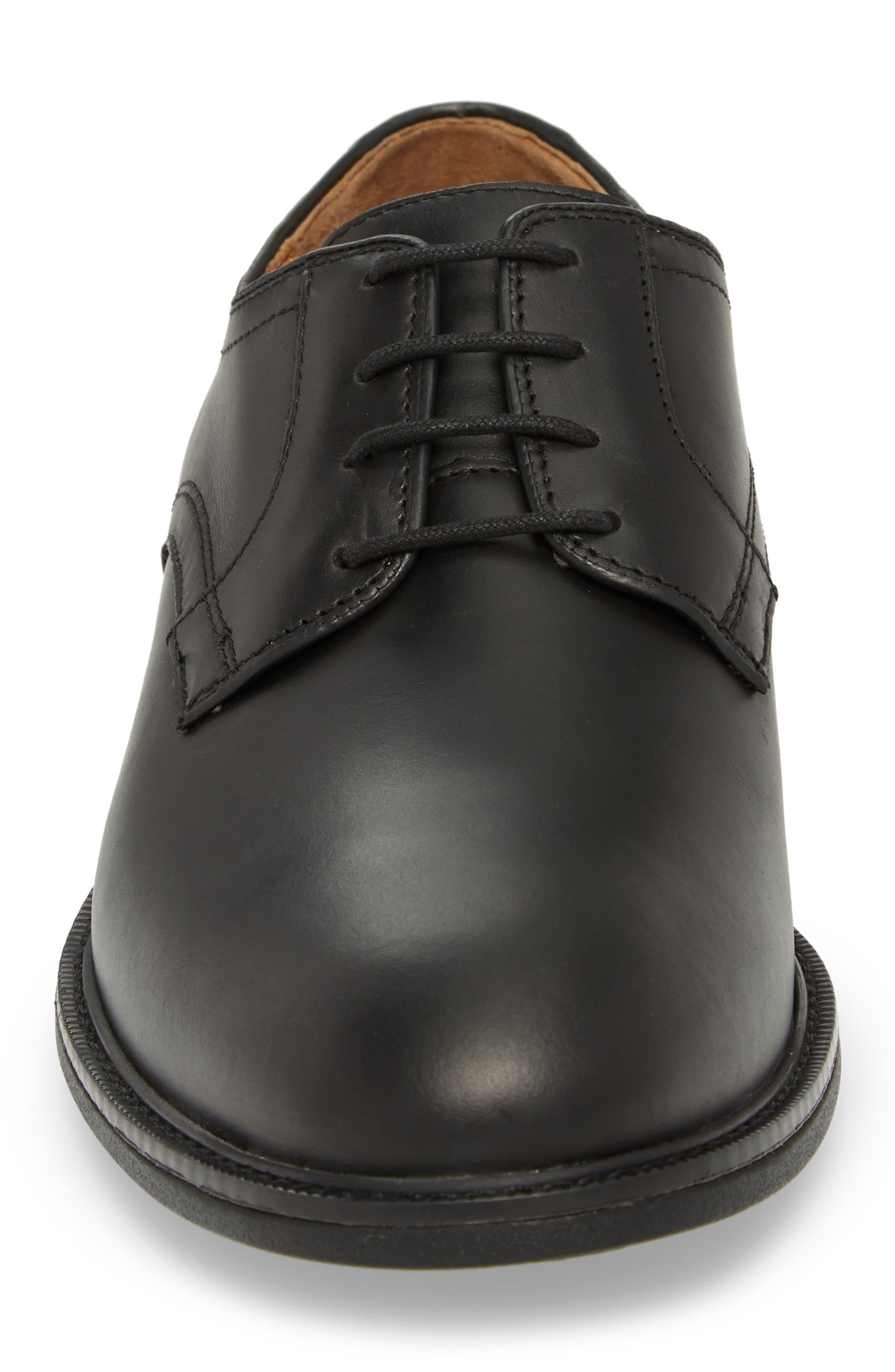 Hollis XC4<sup>®</sup> Plain Toe Derby,                             Alternate thumbnail 4, color,                             Black Nubuck