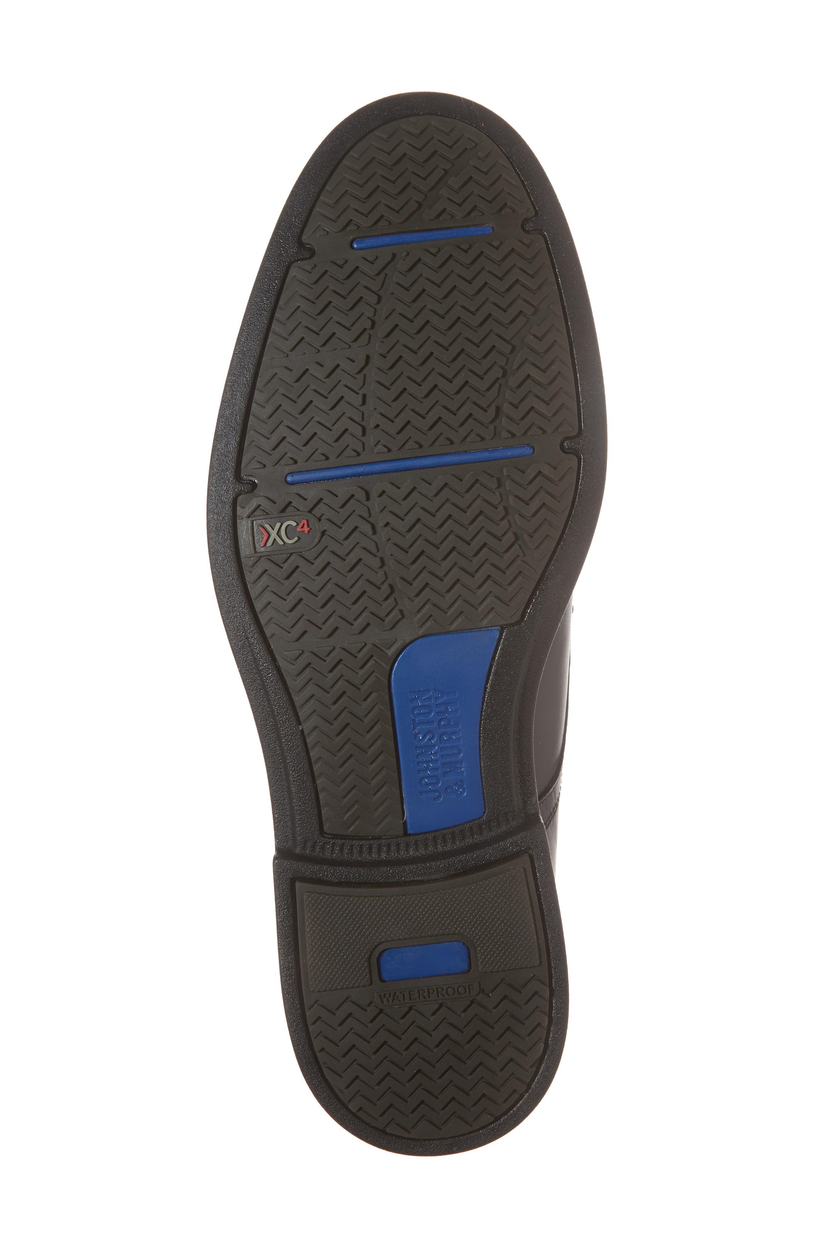 Hollis XC4<sup>®</sup> Plain Toe Derby,                             Alternate thumbnail 6, color,                             Black Nubuck