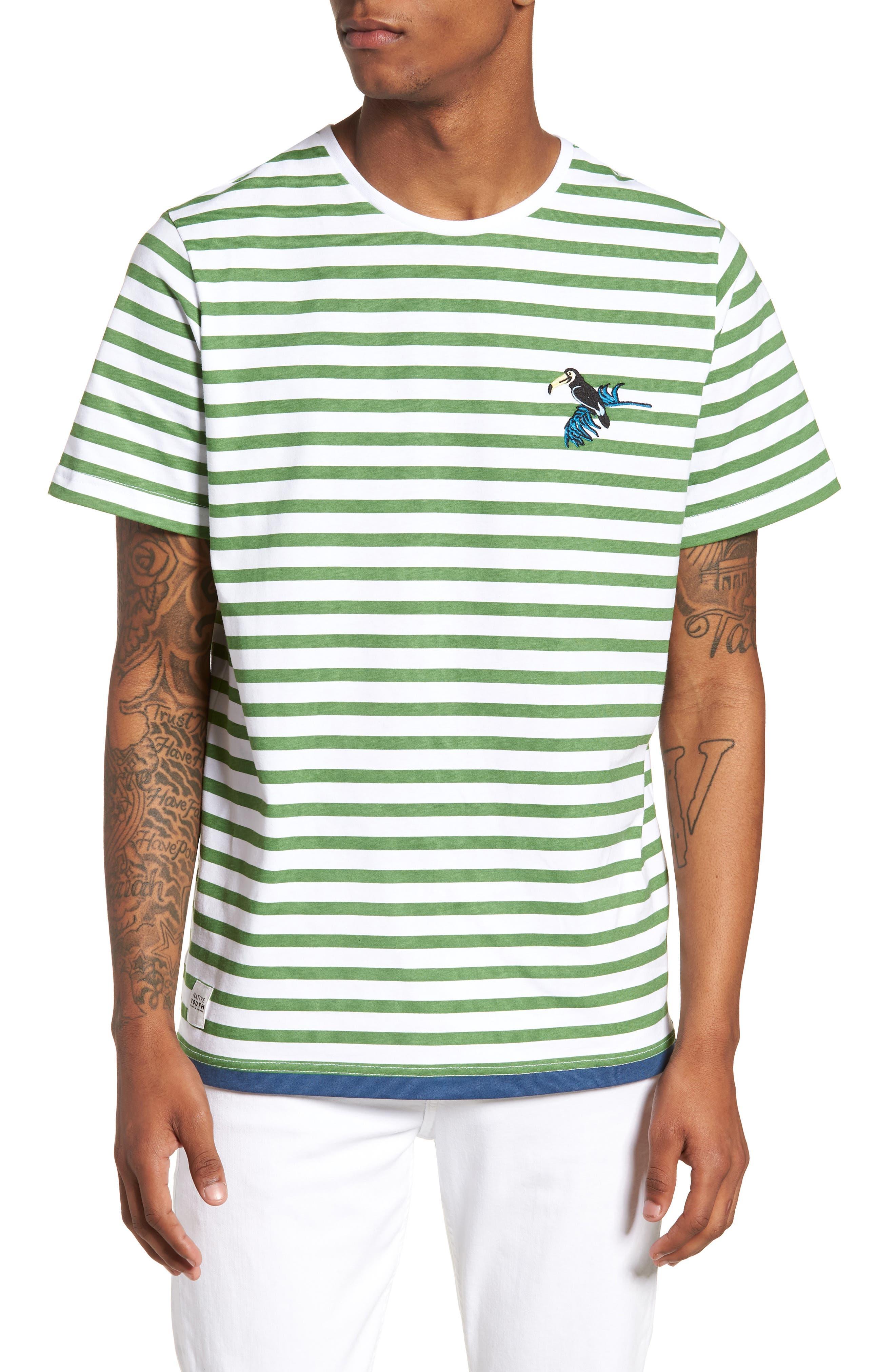Abalone T-Shirt,                             Main thumbnail 1, color,                             Green
