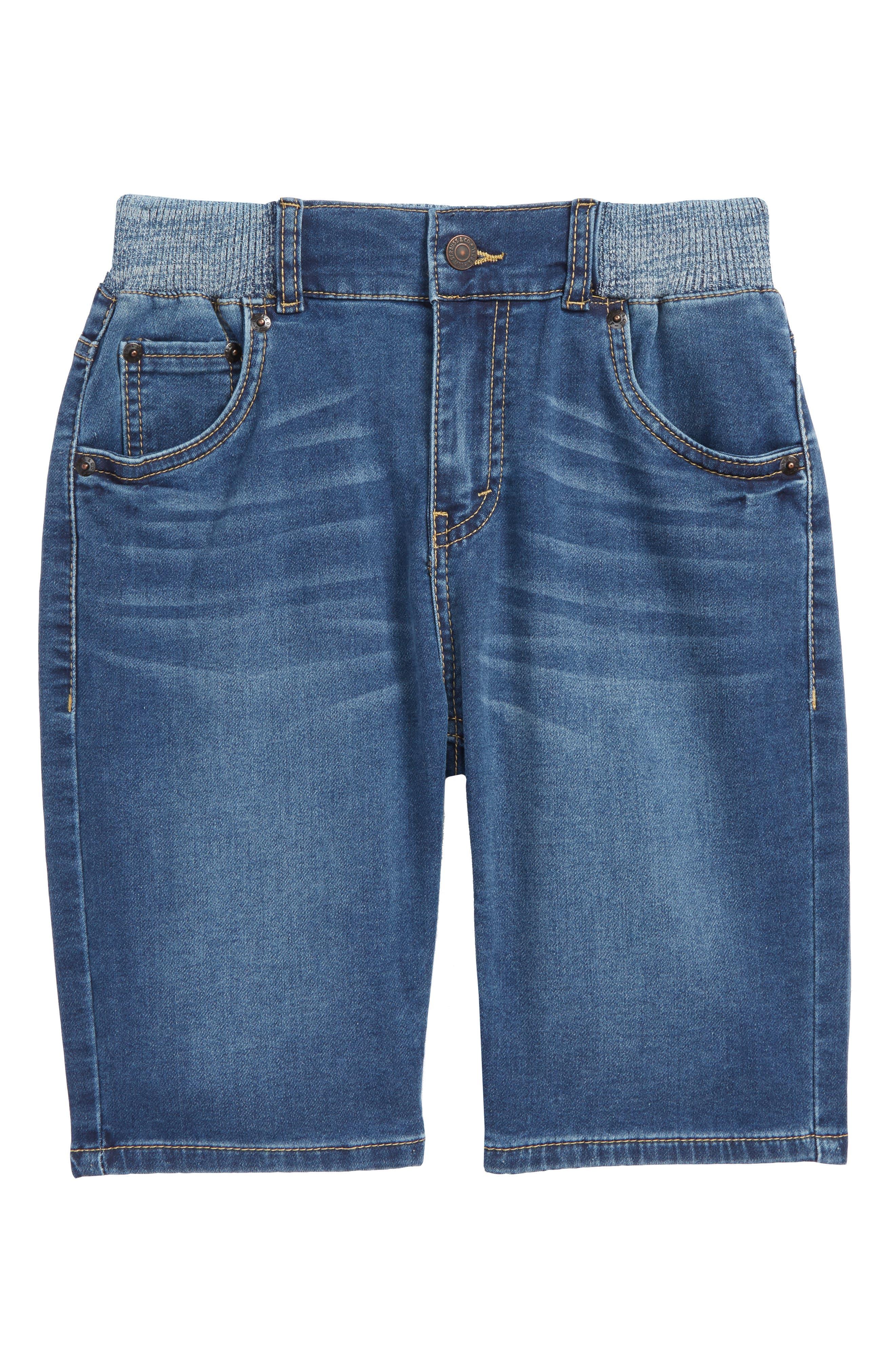 Levi's Super Chill Denim Shorts,                             Main thumbnail 1, color,                             Coastal Sd