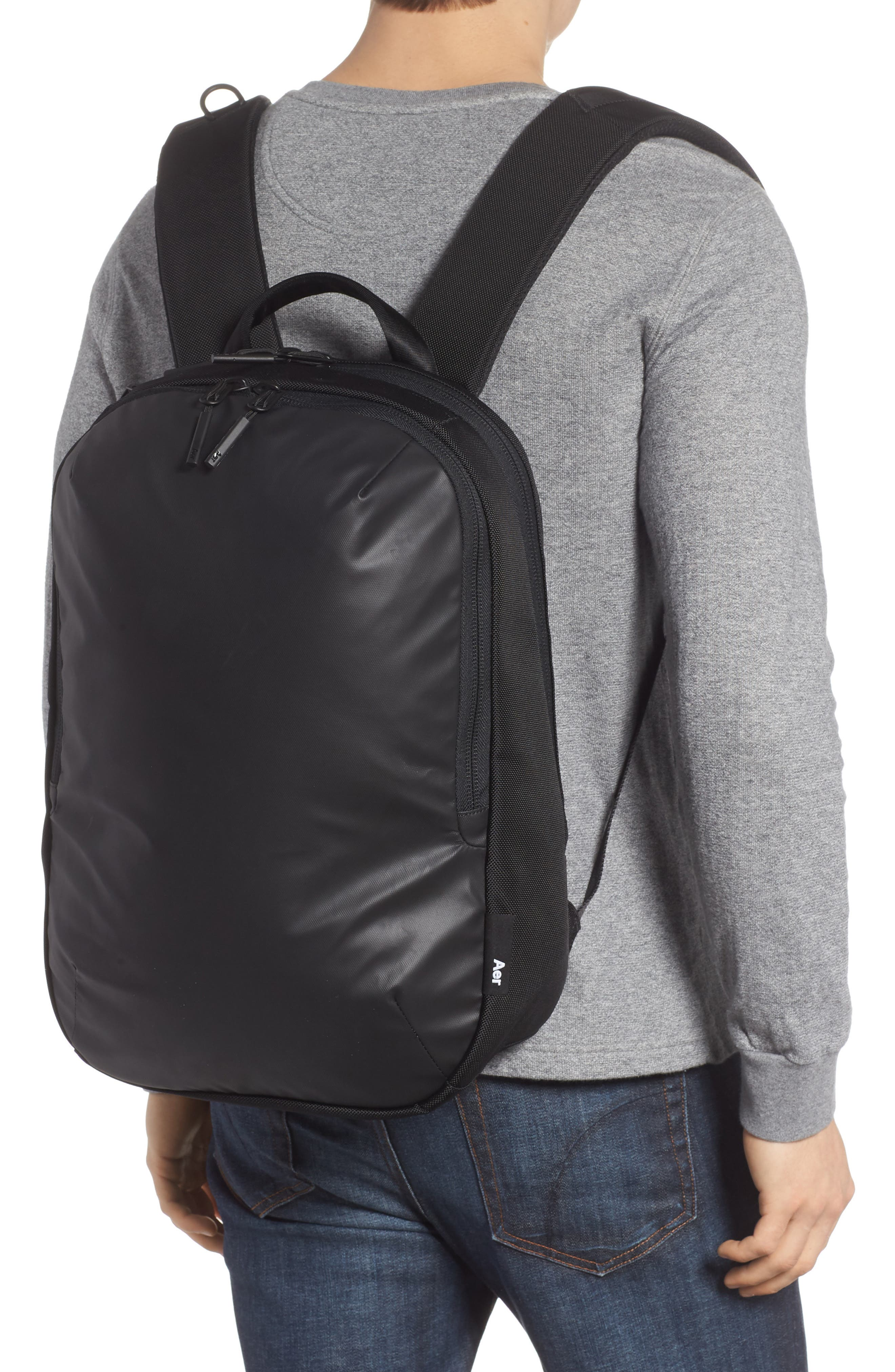 Work Day Backpack,                             Alternate thumbnail 2, color,                             Black