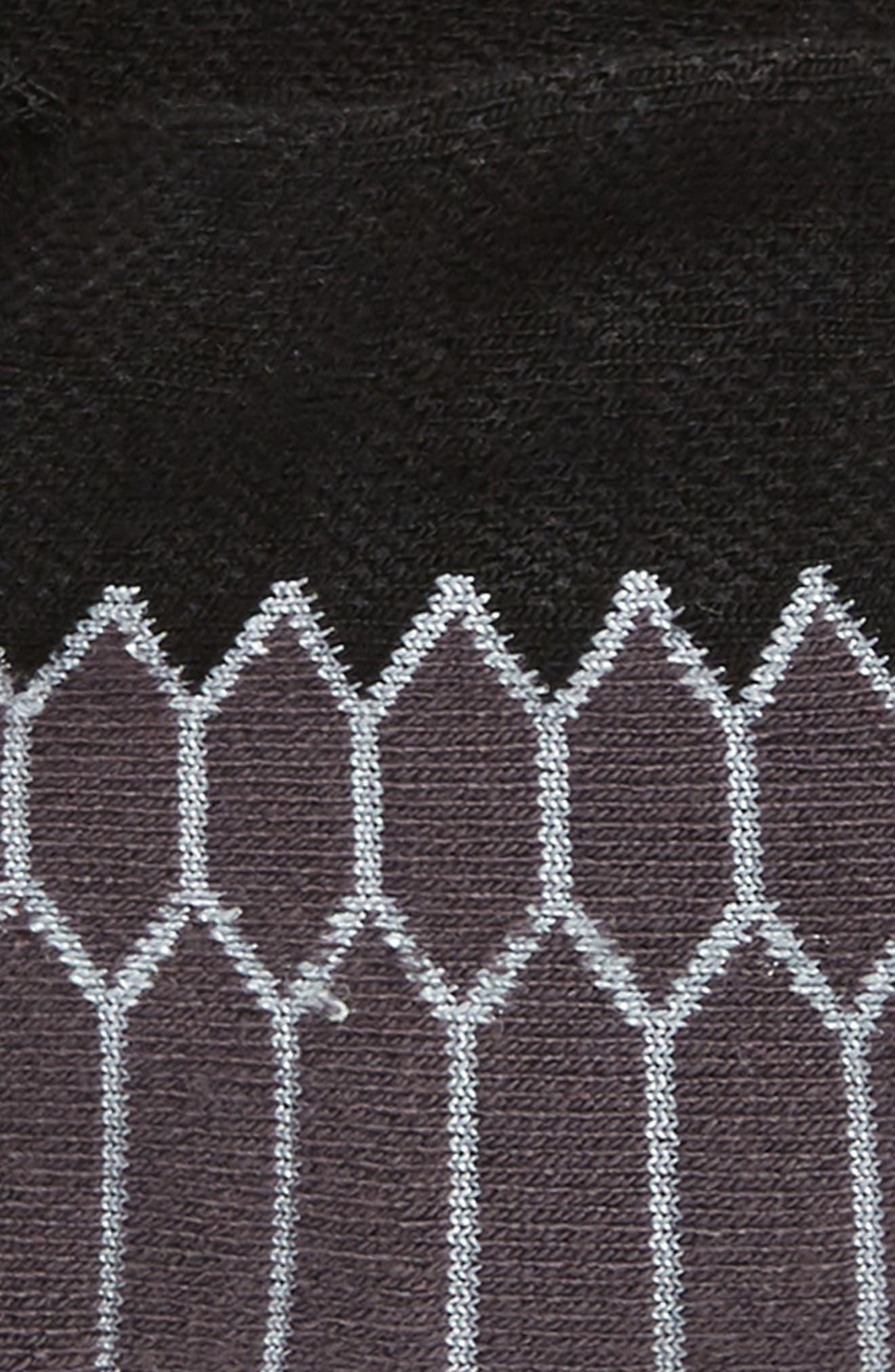 Silver Socks,                             Alternate thumbnail 2, color,                             Black/ Carbon