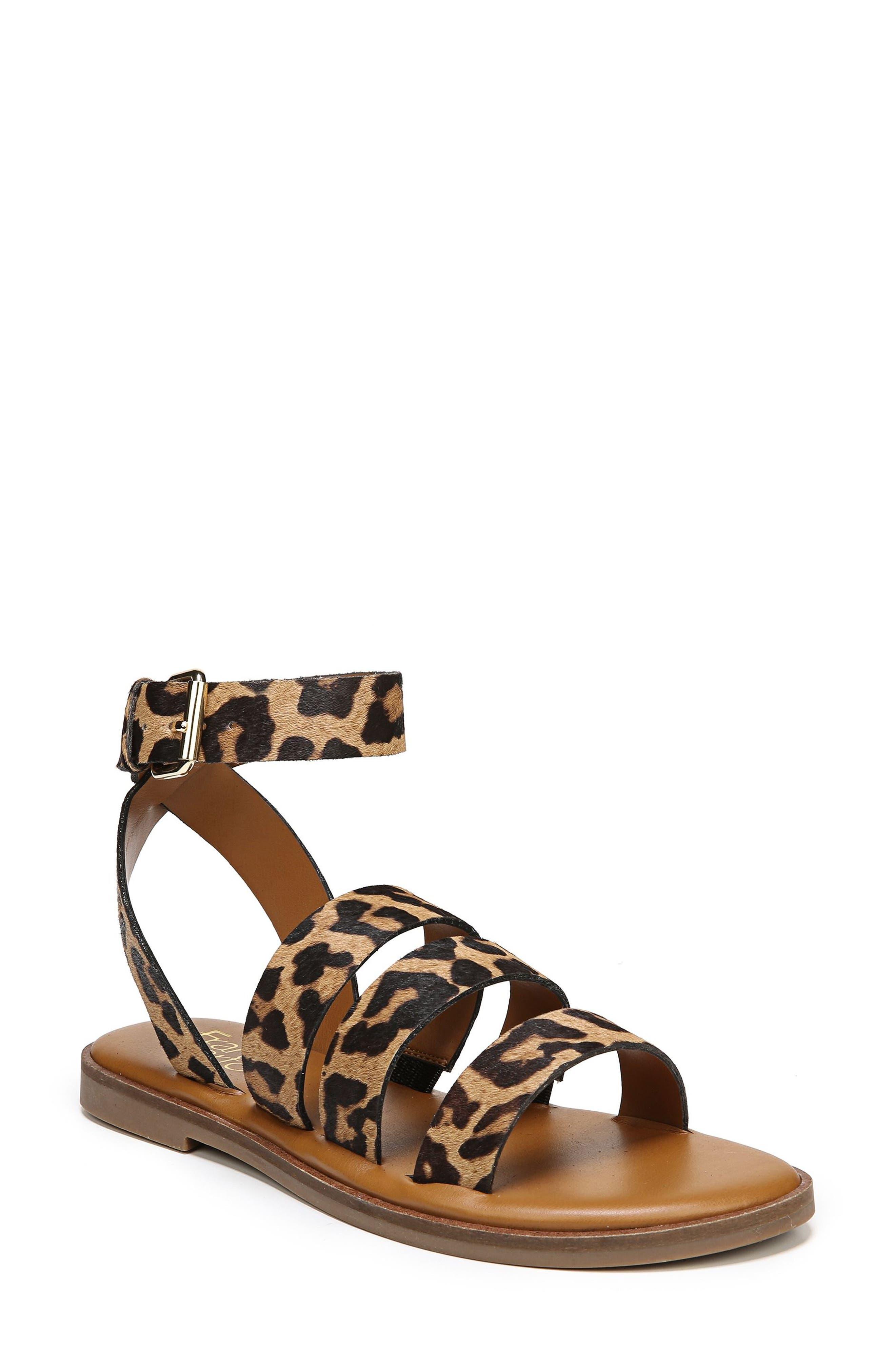 SARTO by Franco Sarto Kyson Genuine Calf Hair Sandal (Women)