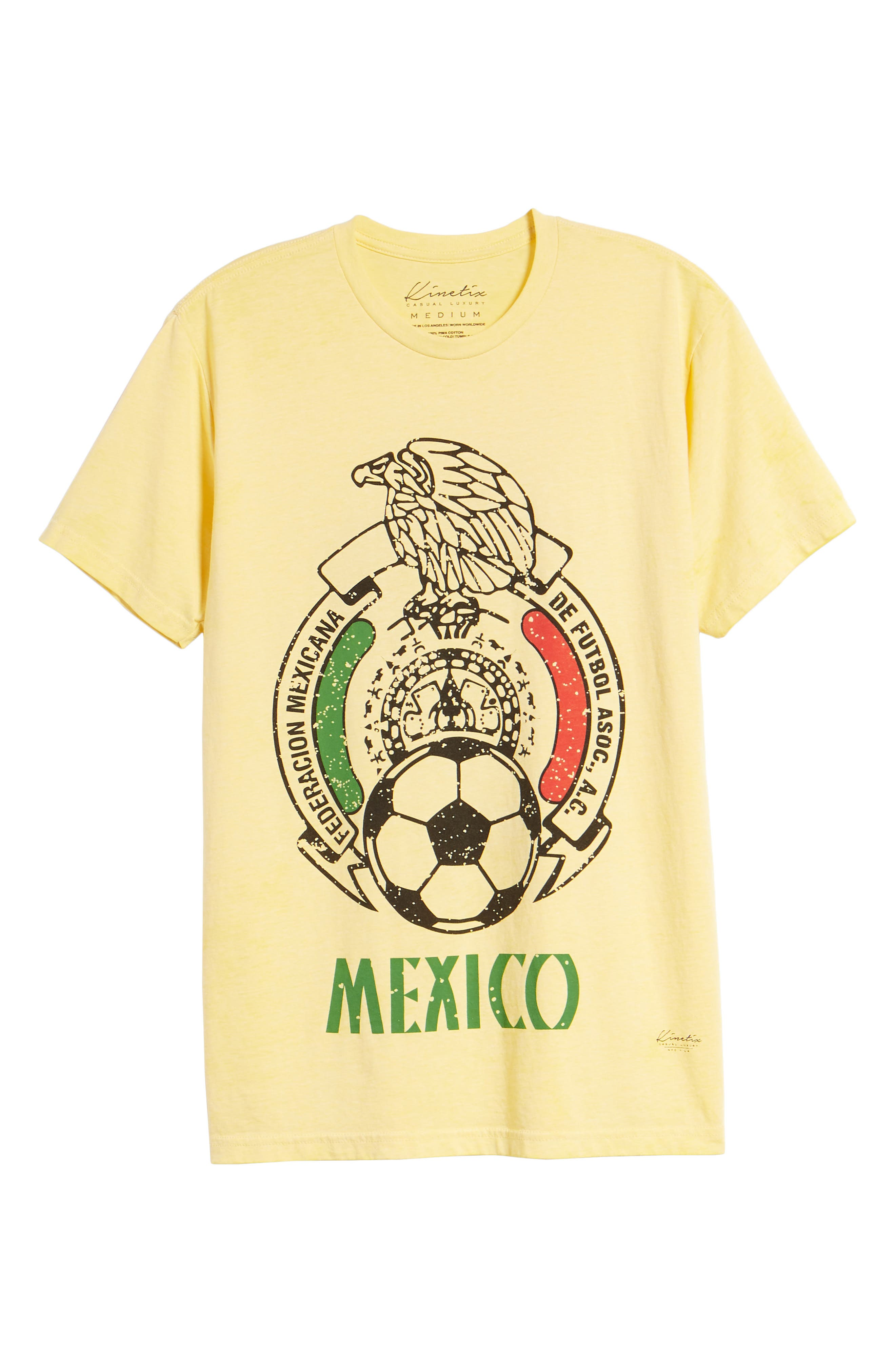 Mexico Jersey T-Shirt,                             Alternate thumbnail 6, color,                             Yellow