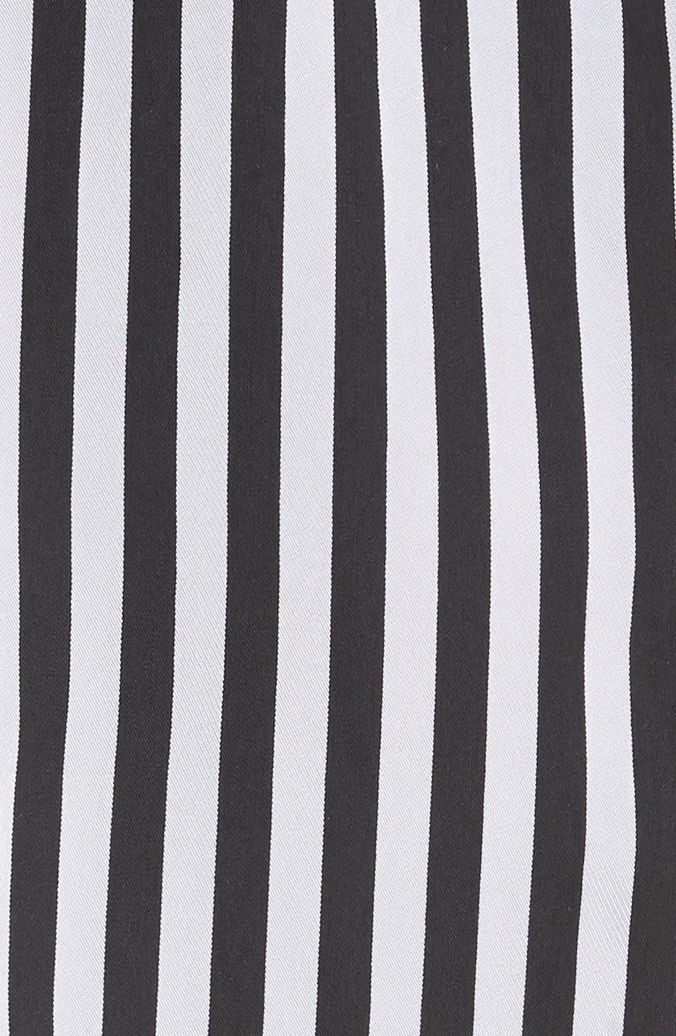 Asymmetrical Hem Slipdress,                             Alternate thumbnail 5, color,                             Black
